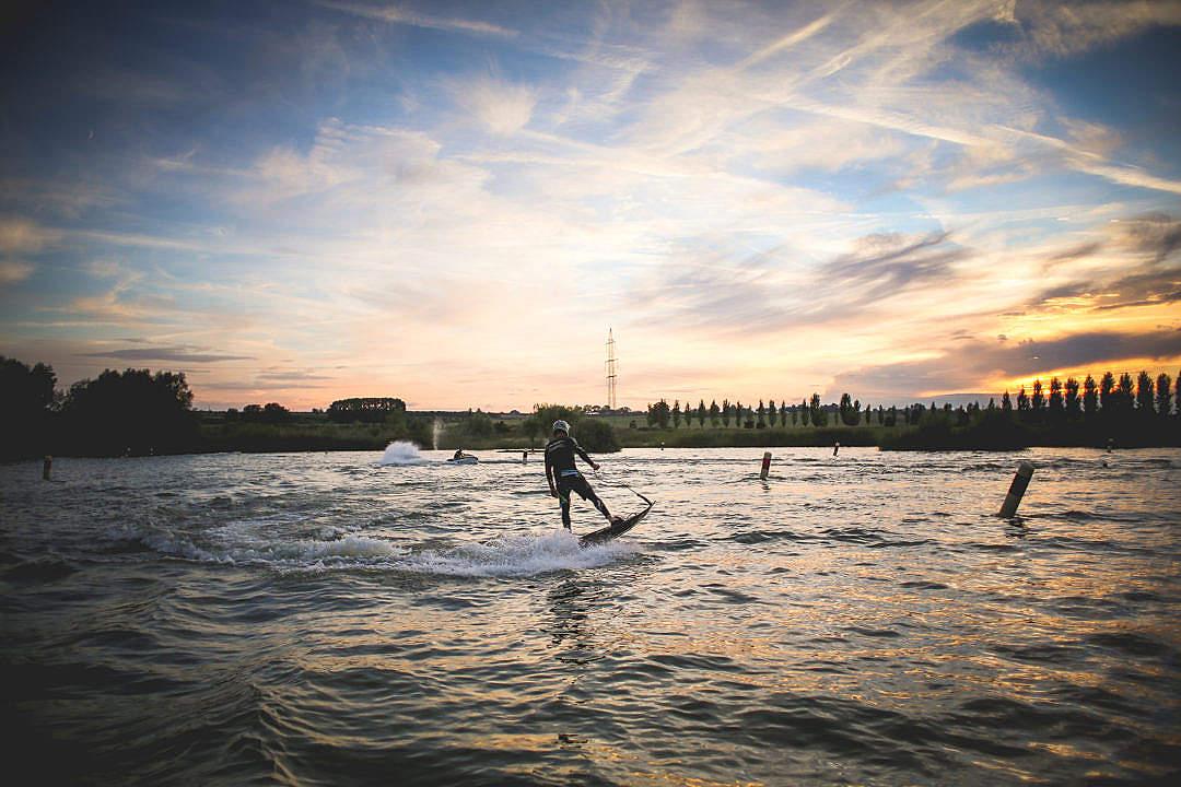 Download JetSurf Water Sports Fun FREE Stock Photo