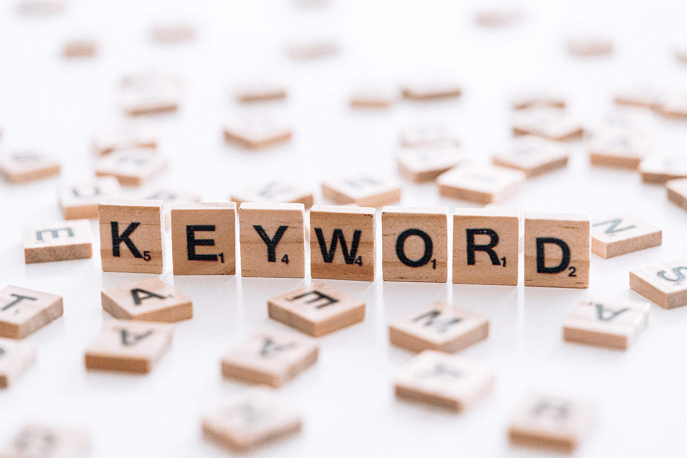 Keyword Free Stock Photo