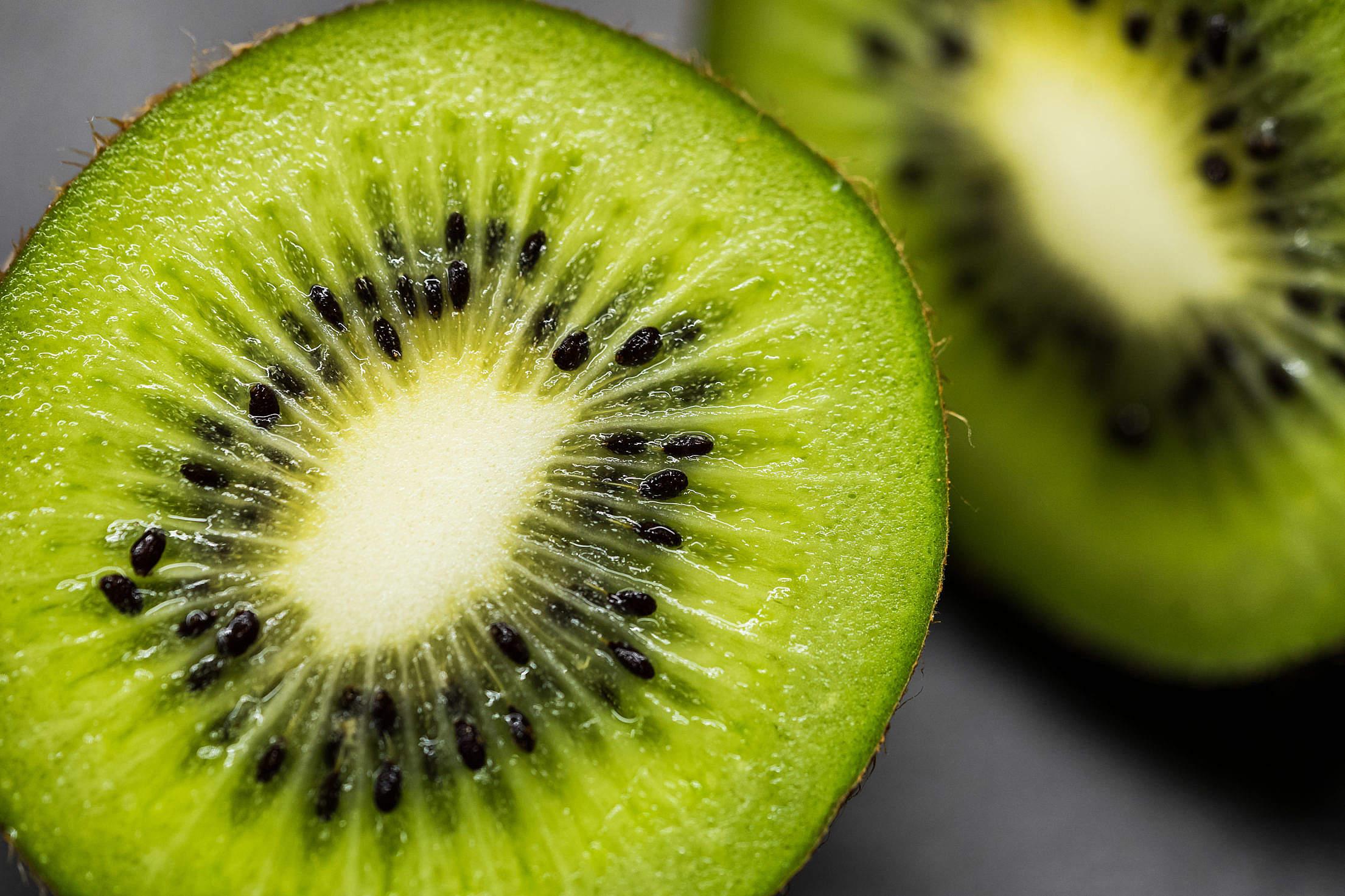 Kiwi Macro Free Stock Photo