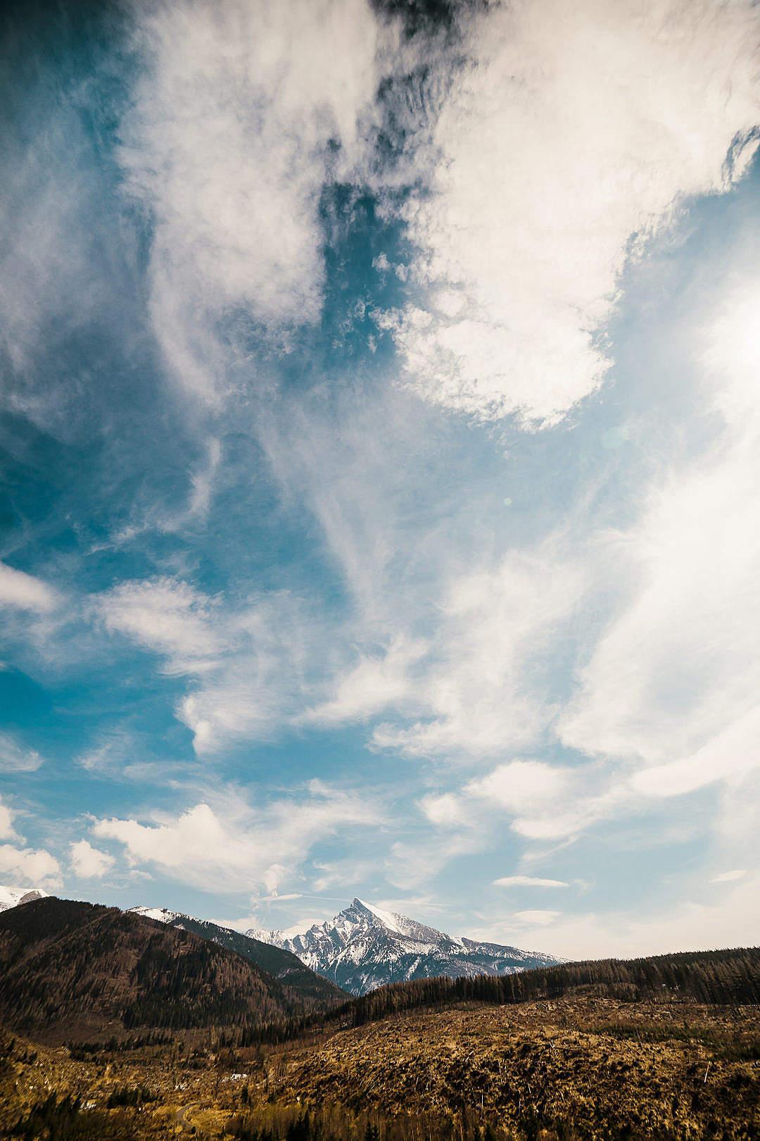 Download Krivan Mountain in High Tatras, Slovakia Vertical FREE Stock Photo