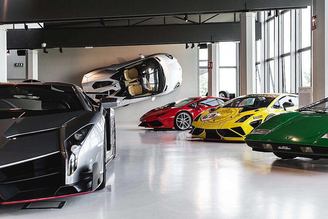 Download Lamborghini Museum FREE Stock Photo