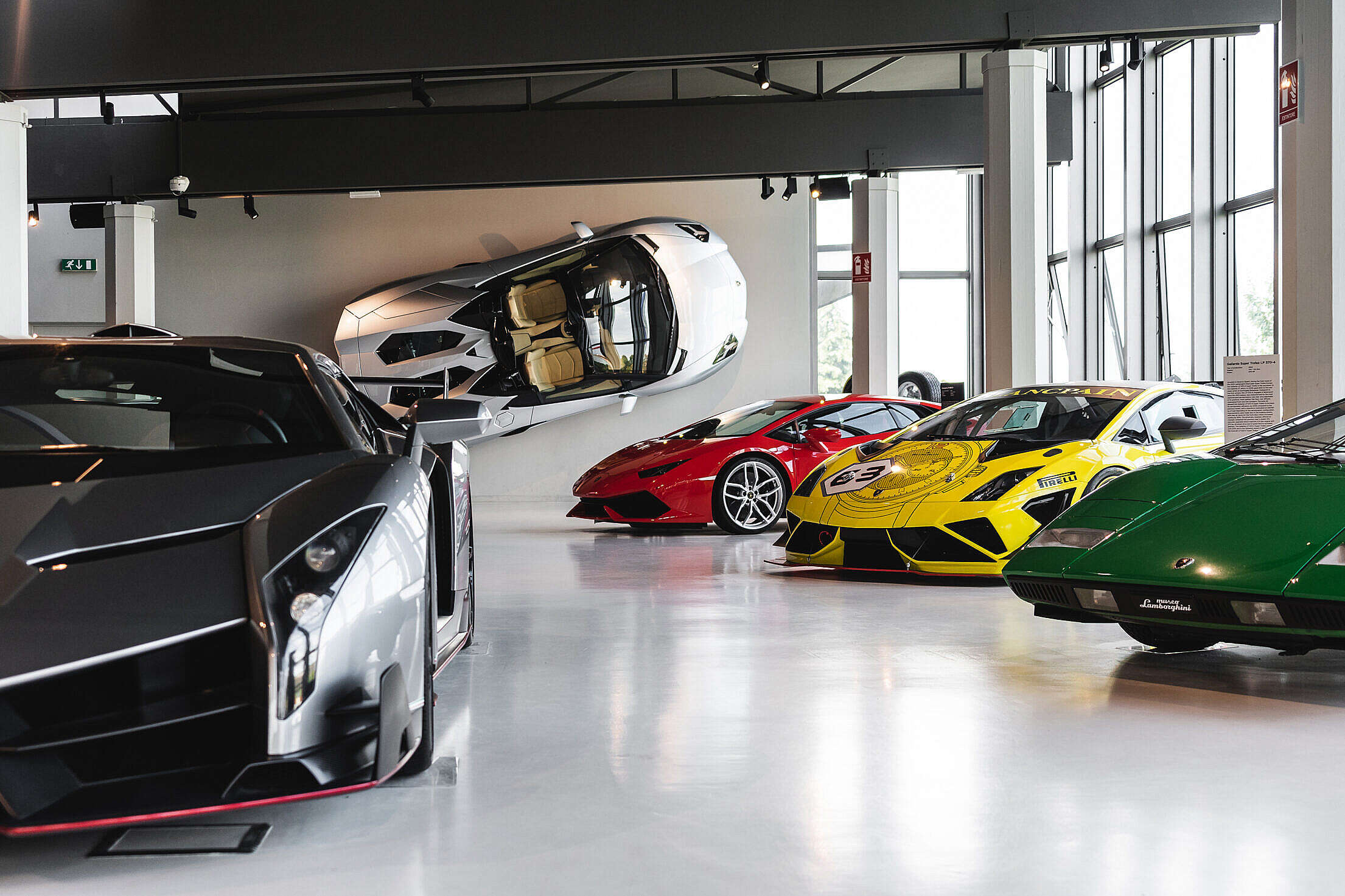 Lamborghini Museum Free Stock Photo