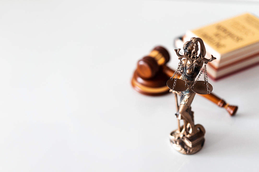 Download Lawyer Office Decoration Blind Lady Justice FREE Stock Photo