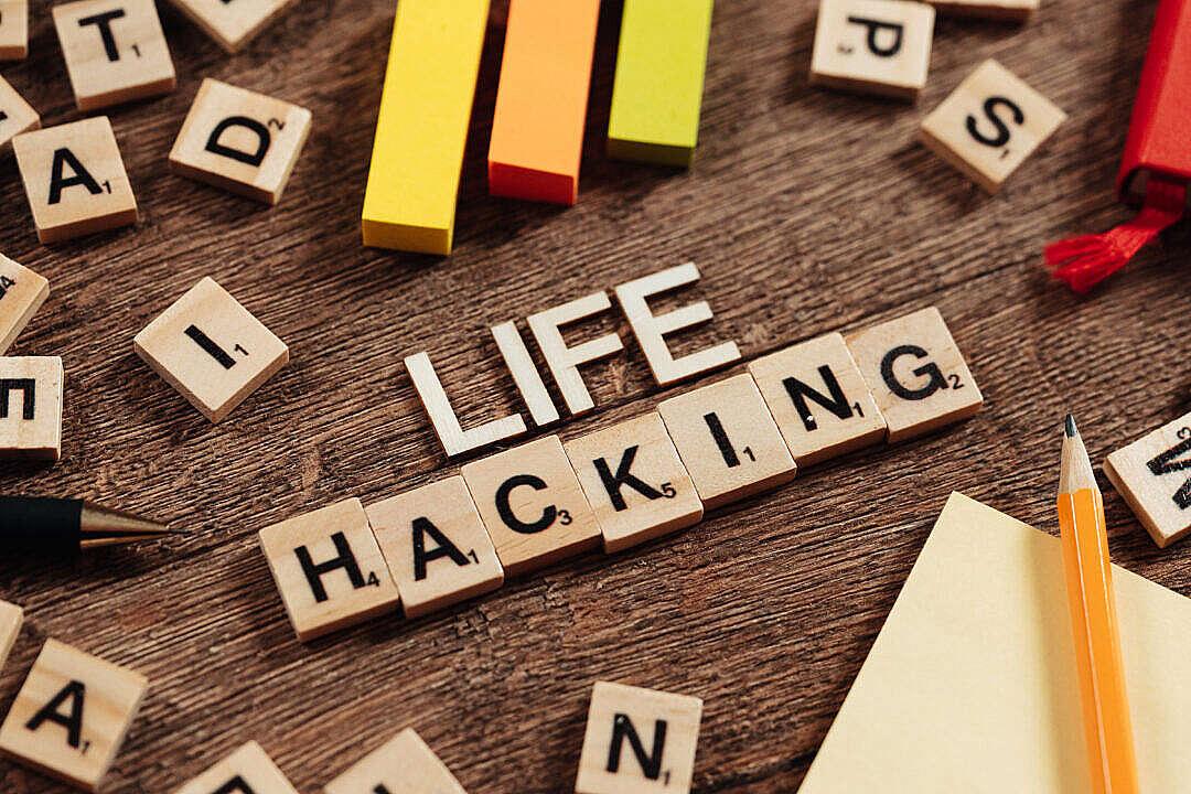 Download Life Hacking FREE Stock Photo