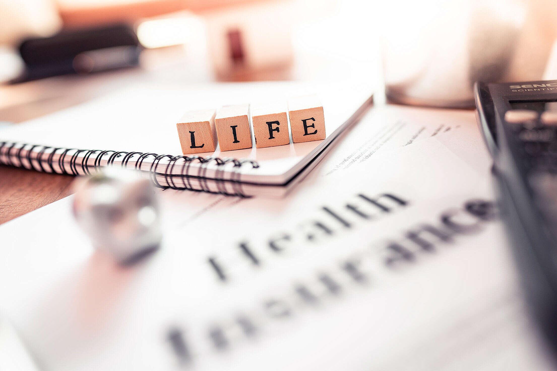 Life Insurance Health Insurance Free Stock Photo