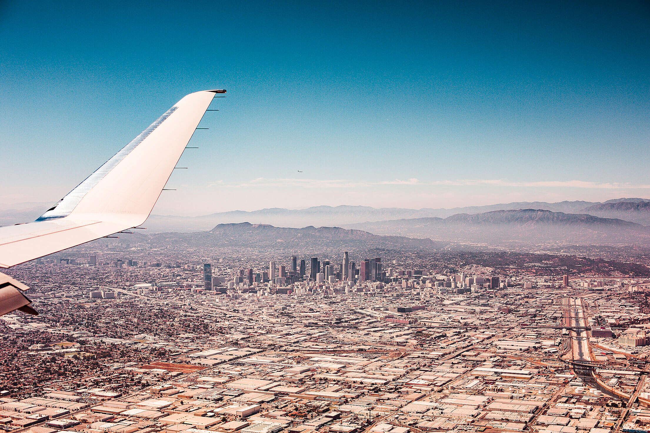 Los Angeles City, California Free Stock Photo