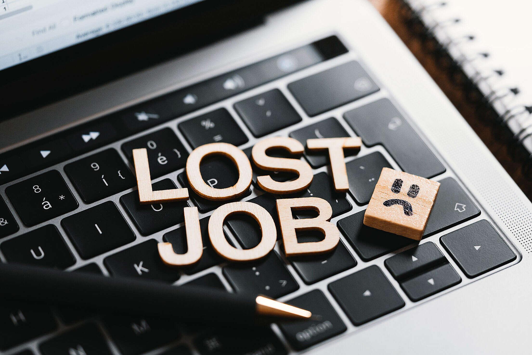 Lost Job Free Stock Photo
