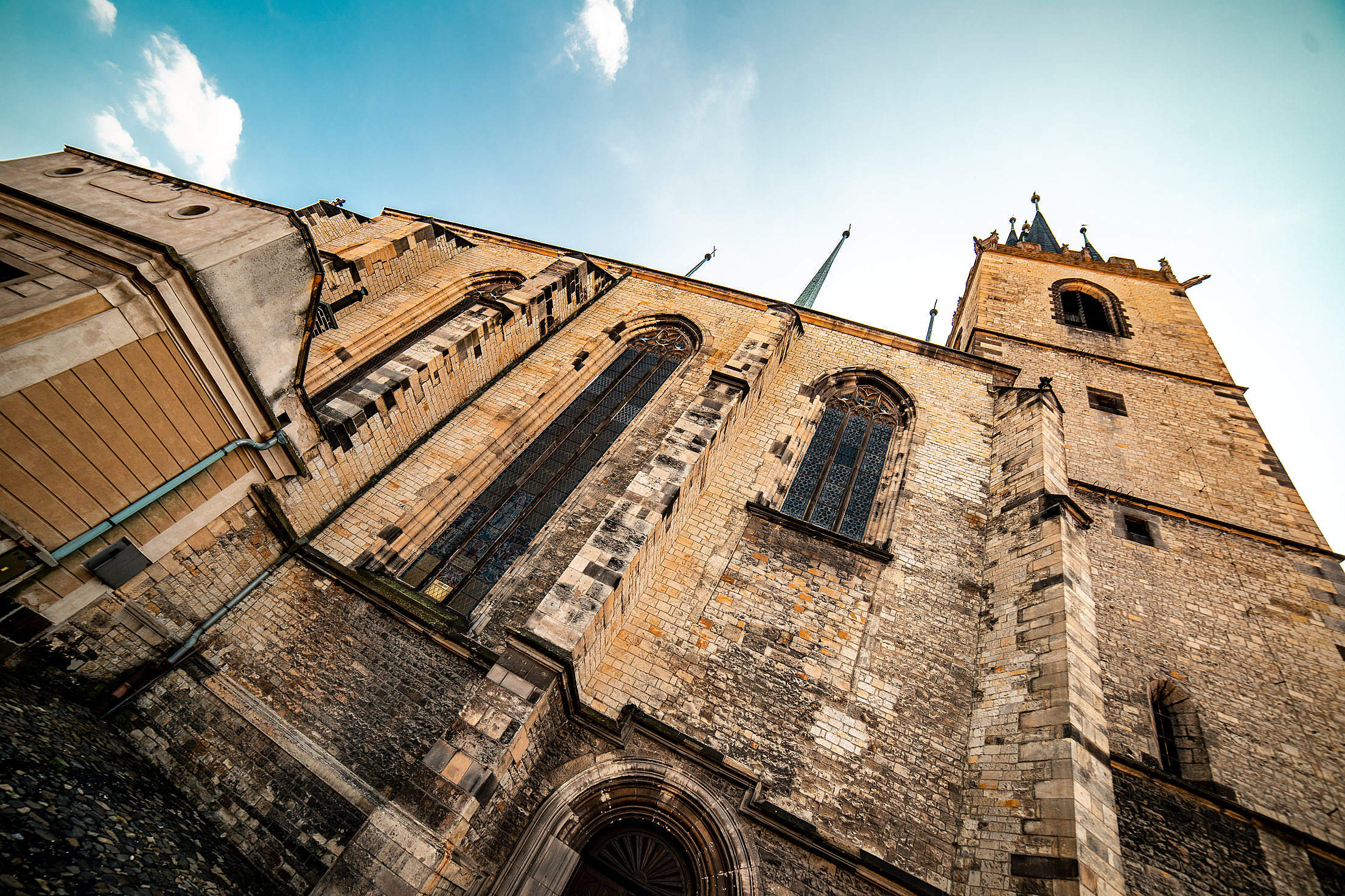 Louny Church, Czechia Free Stock Photo