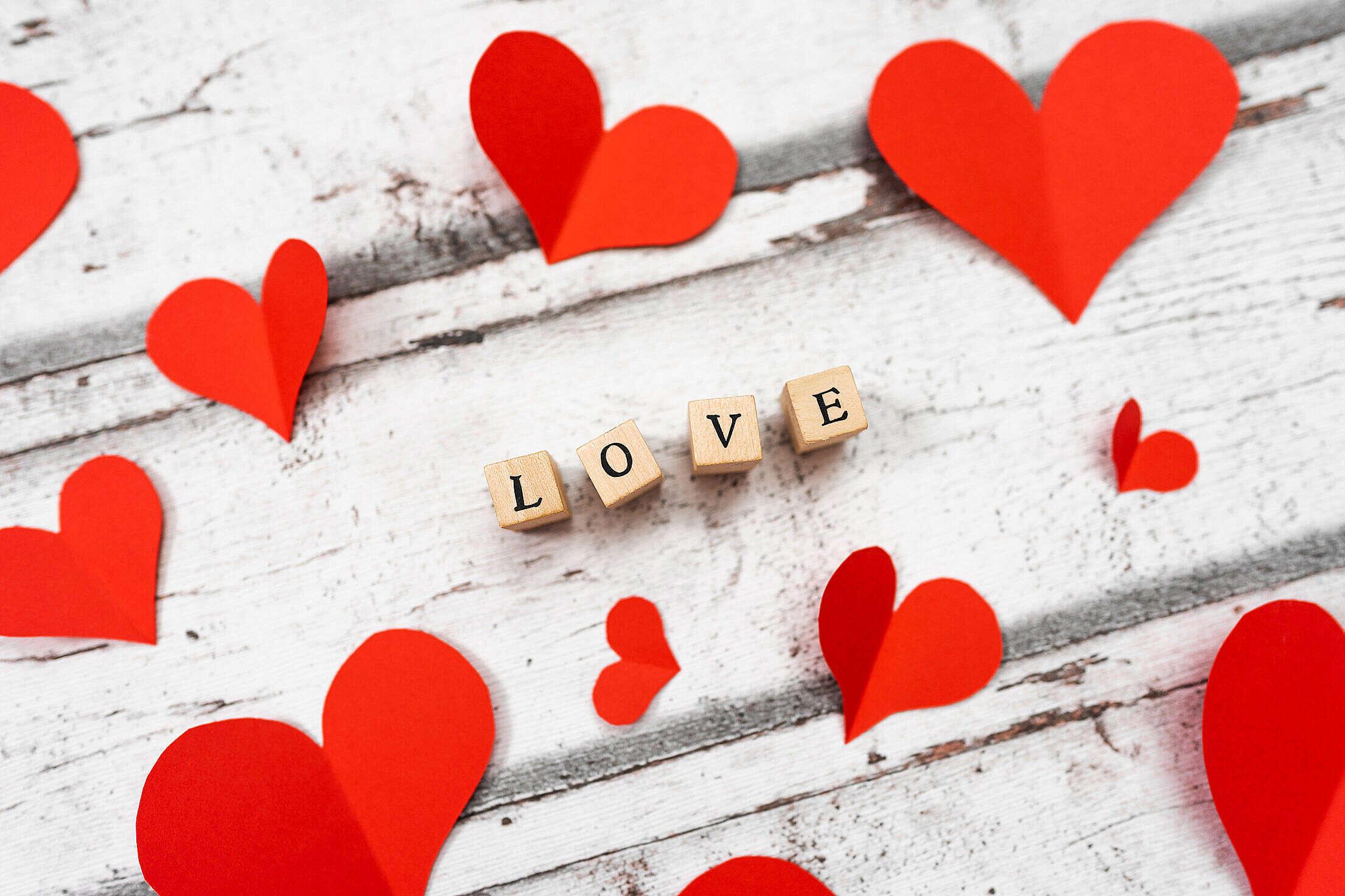 Love Background Free Stock Photo