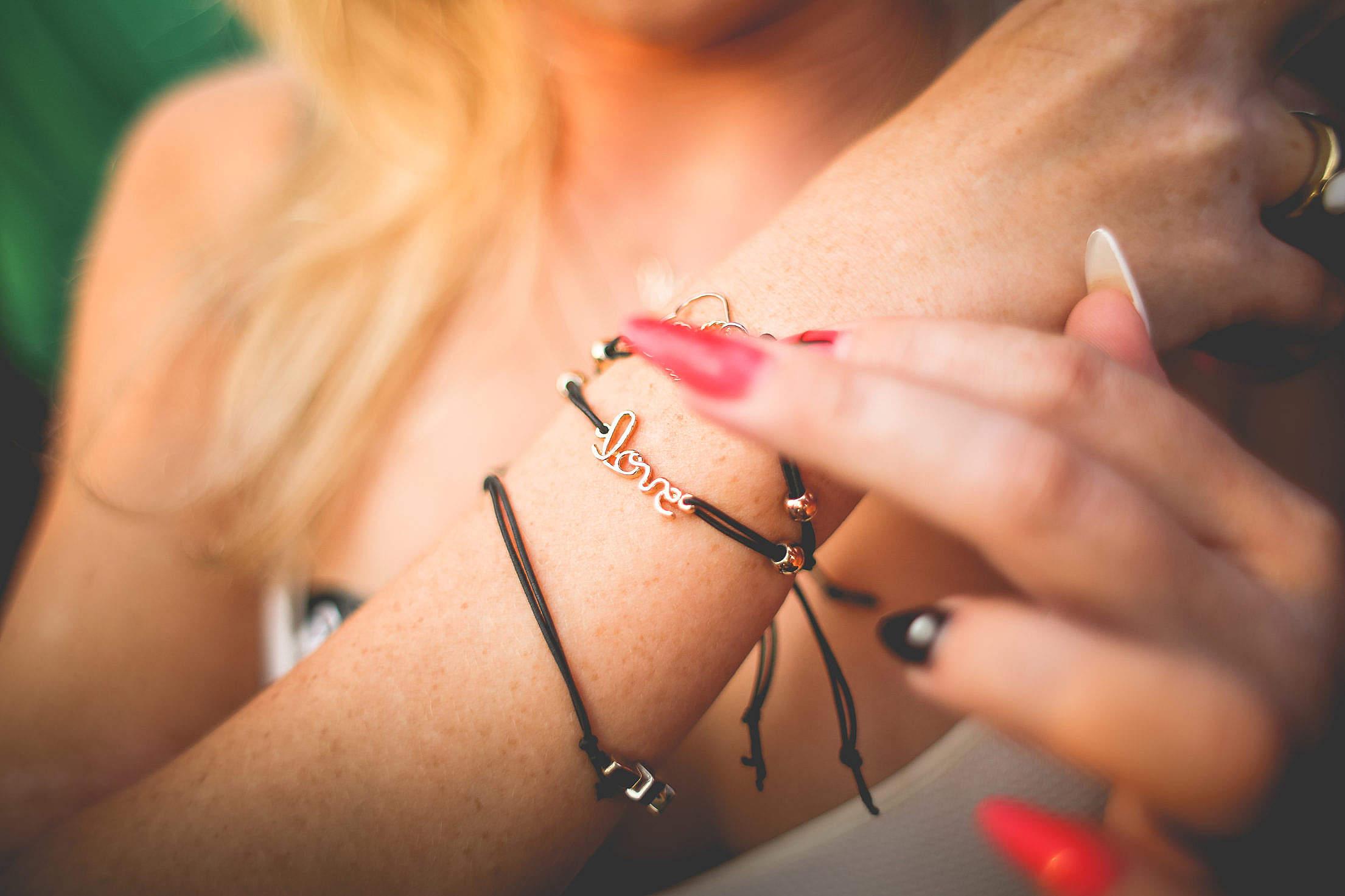 Love Bracelet Free Stock Photo