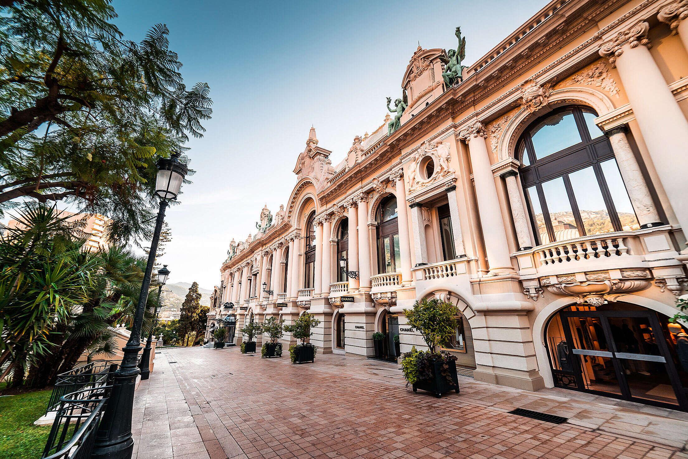 Luxury Stores in Monaco Monte Carlo Free Stock Photo
