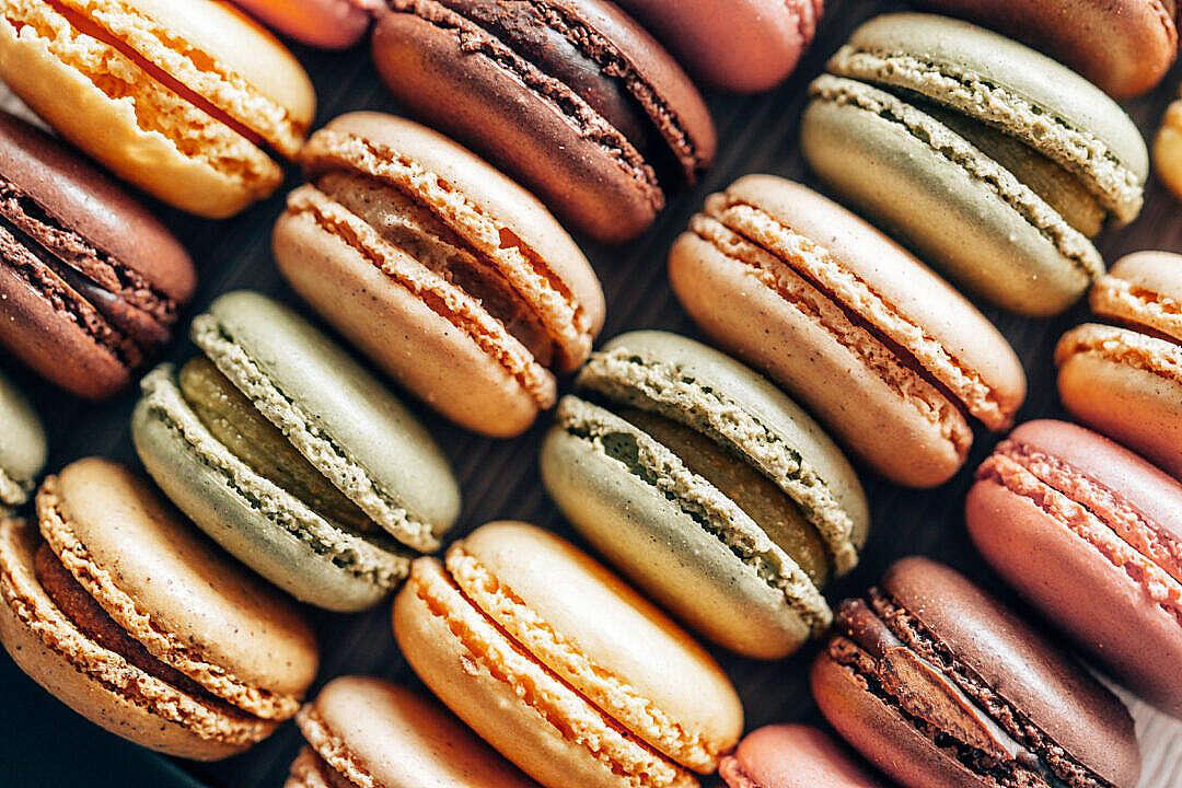 Download Macarons FREE Stock Photo