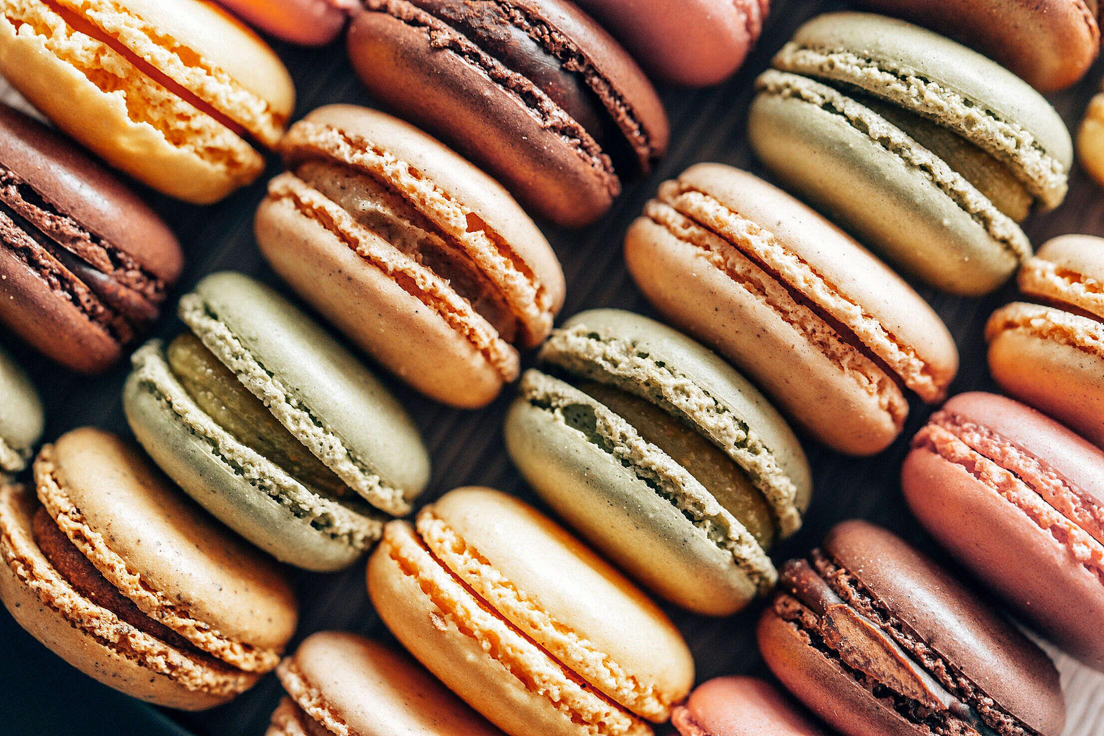 Macarons Free Stock Photo