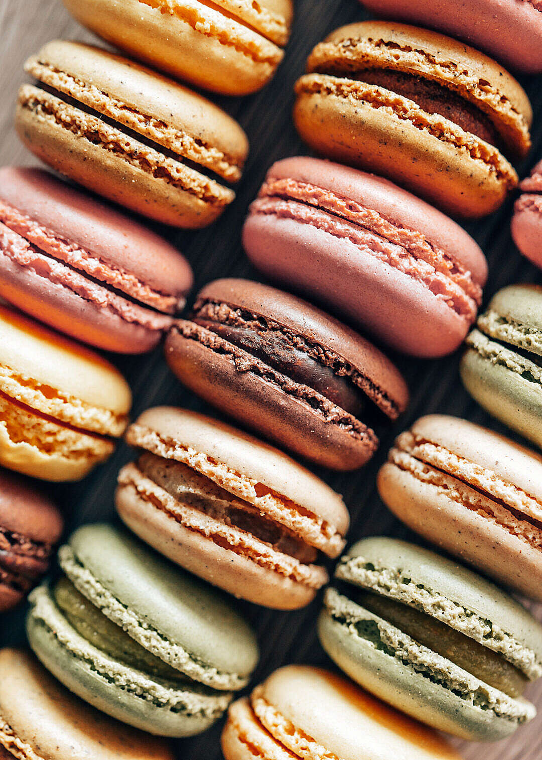 Download Macarons Vertical FREE Stock Photo