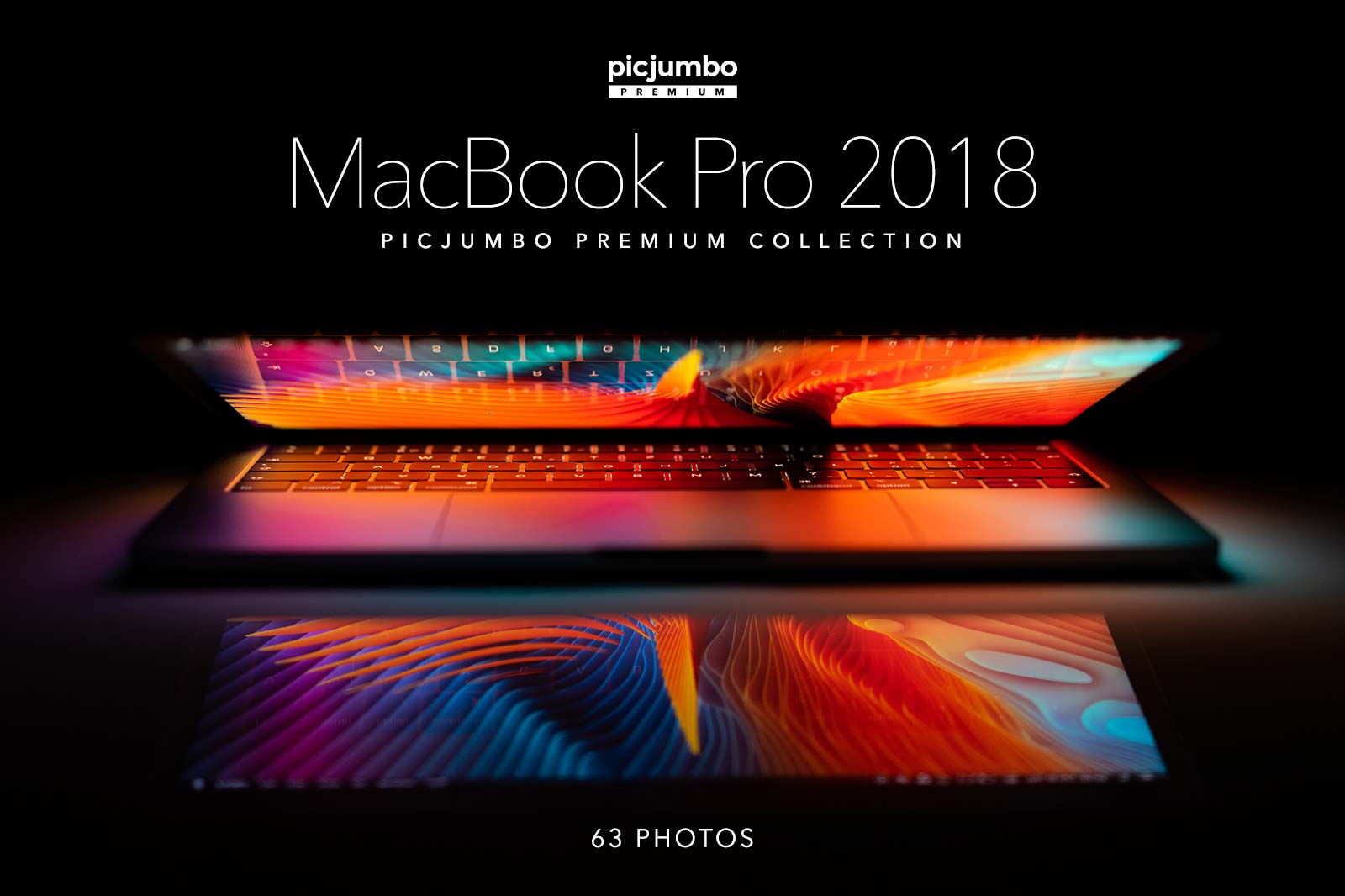 MacBook Pro 2018 — get it now in picjumbo PREMIUM!