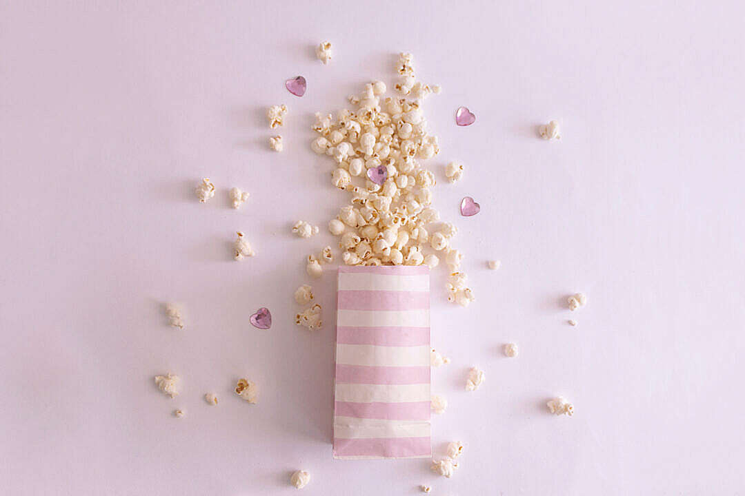 Download Magical Popcorn FREE Stock Photo