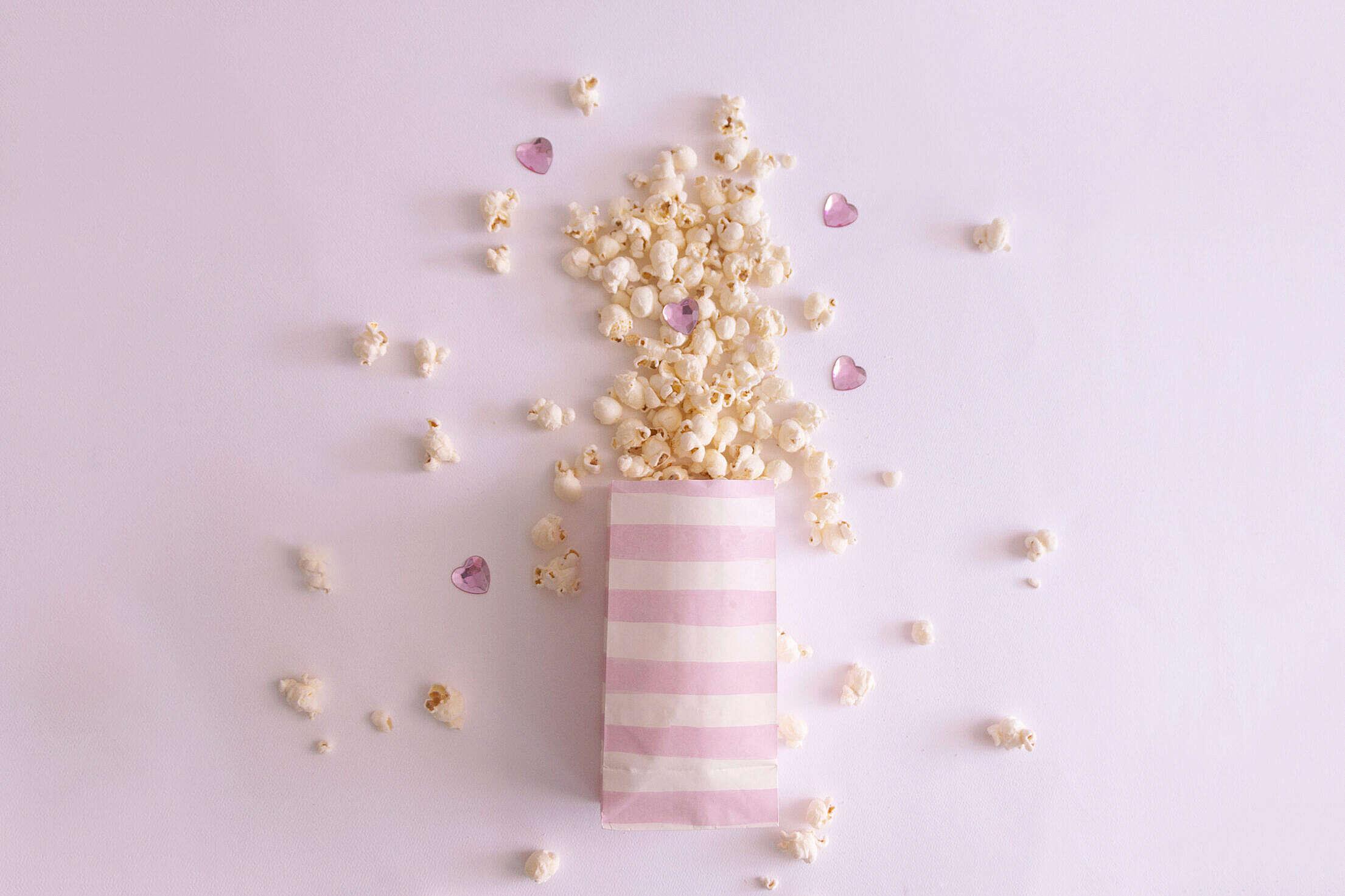 Magical Popcorn Free Stock Photo