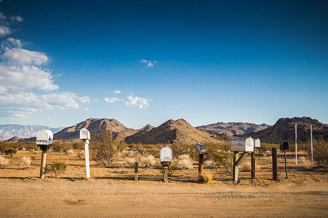 Download Mail Boxes On The Way To Grand Canyon FREE Stock Photo