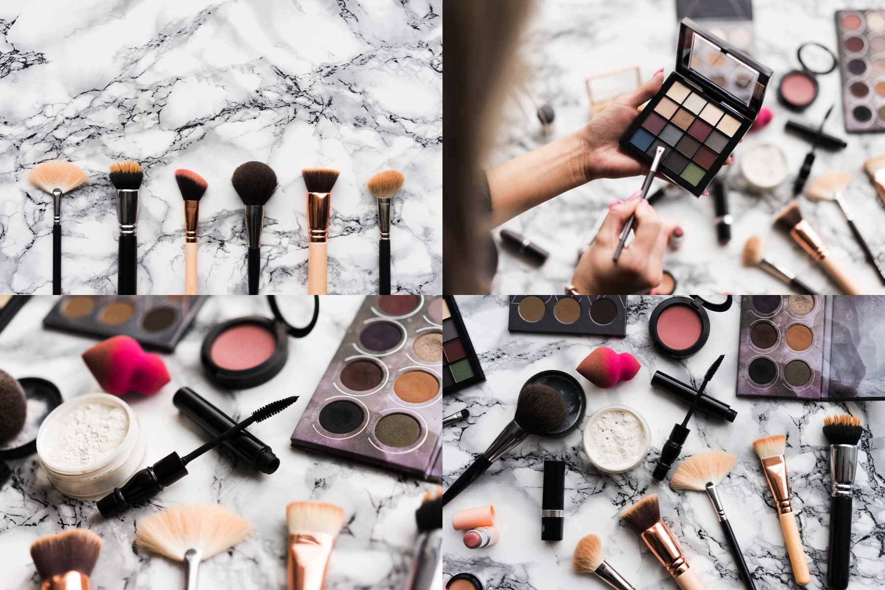 makeup stock photo collection preview