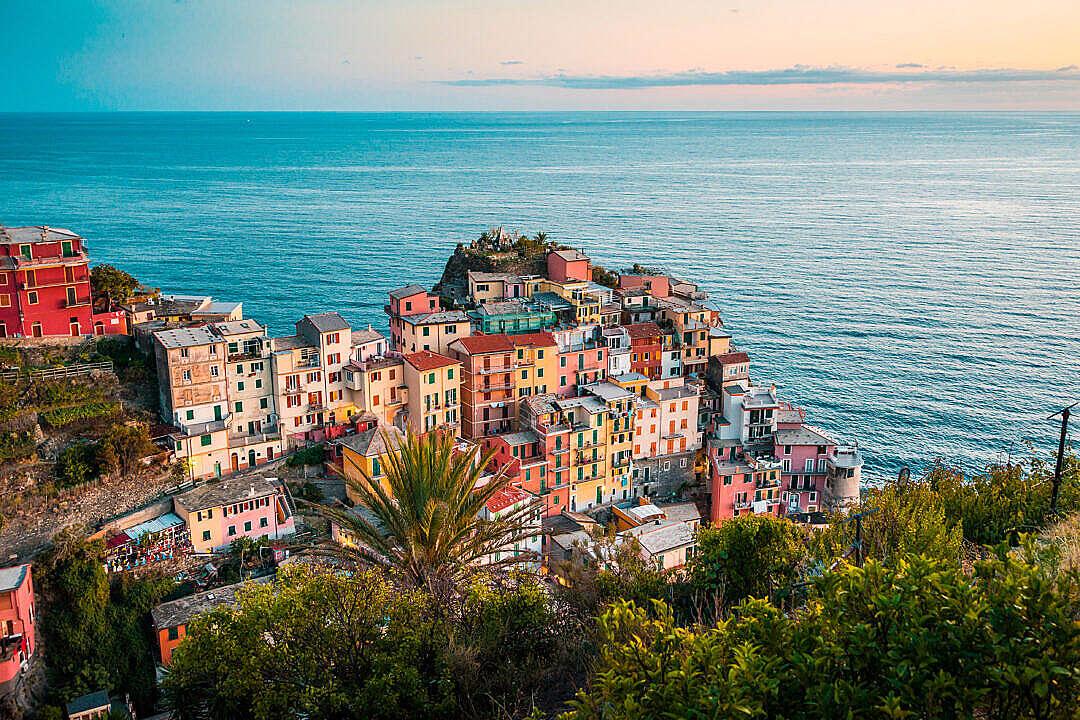 Download Manarola Most Beautiful Village in Italy FREE Stock Photo