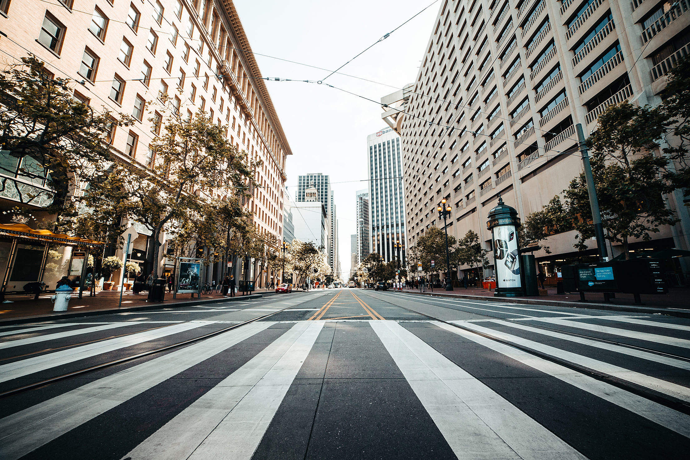 Download Market Street in San Francisco, California Free Stock Photo