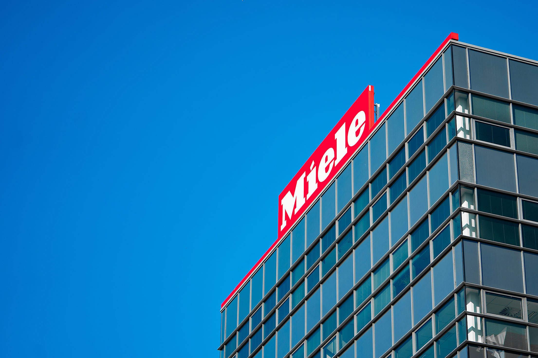 Miele Company Logo Free Stock Photo