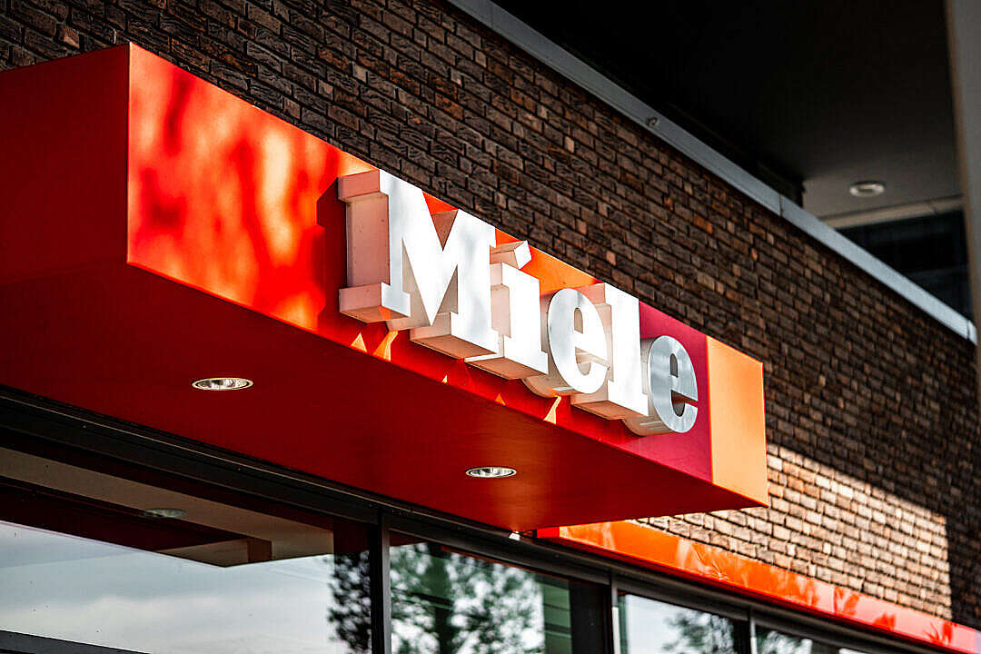 Download Miele Company Logo FREE Stock Photo