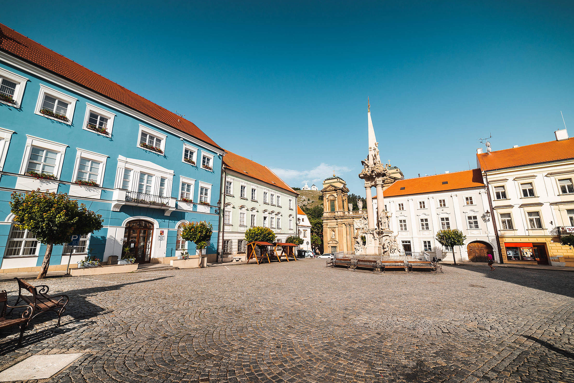 Mikulov Square, Czechia Free Stock Photo
