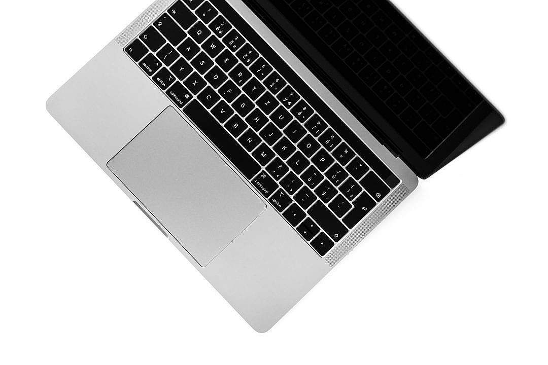 Download Minimalistic Laptop Keyboard FREE Stock Photo