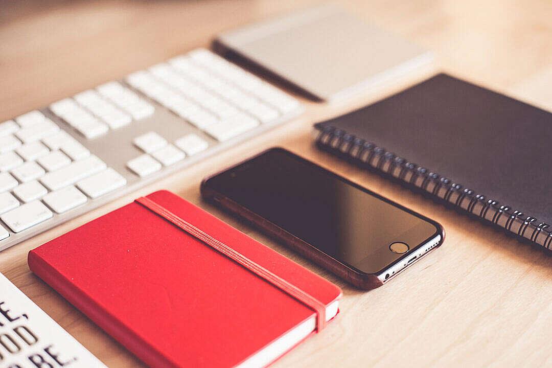 Download Modern Graphic Designer Essentials FREE Stock Photo