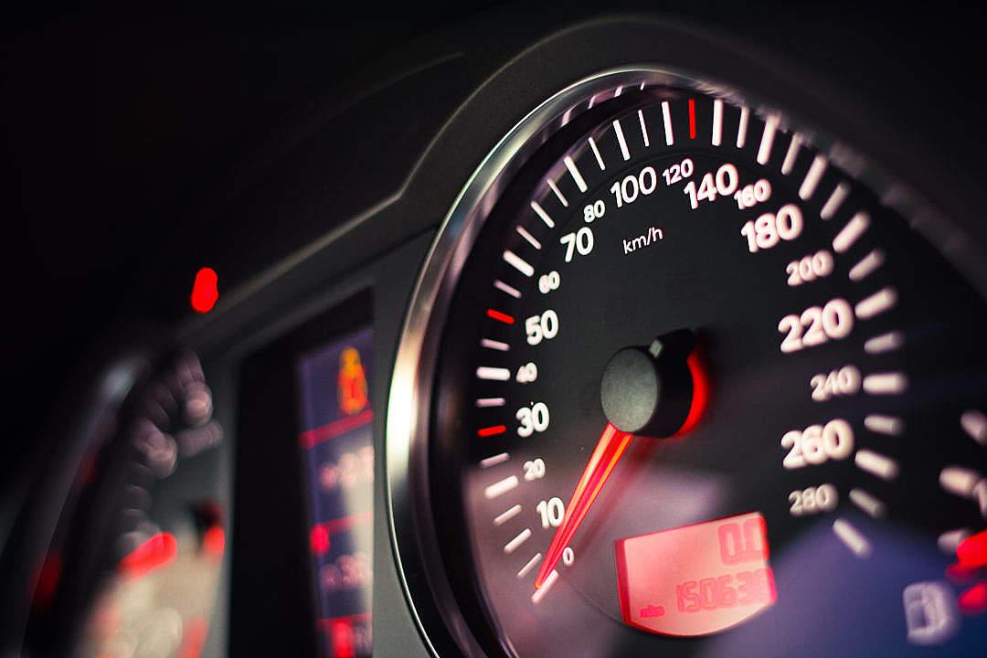 Download Modern Speed-o-Meter FREE Stock Photo