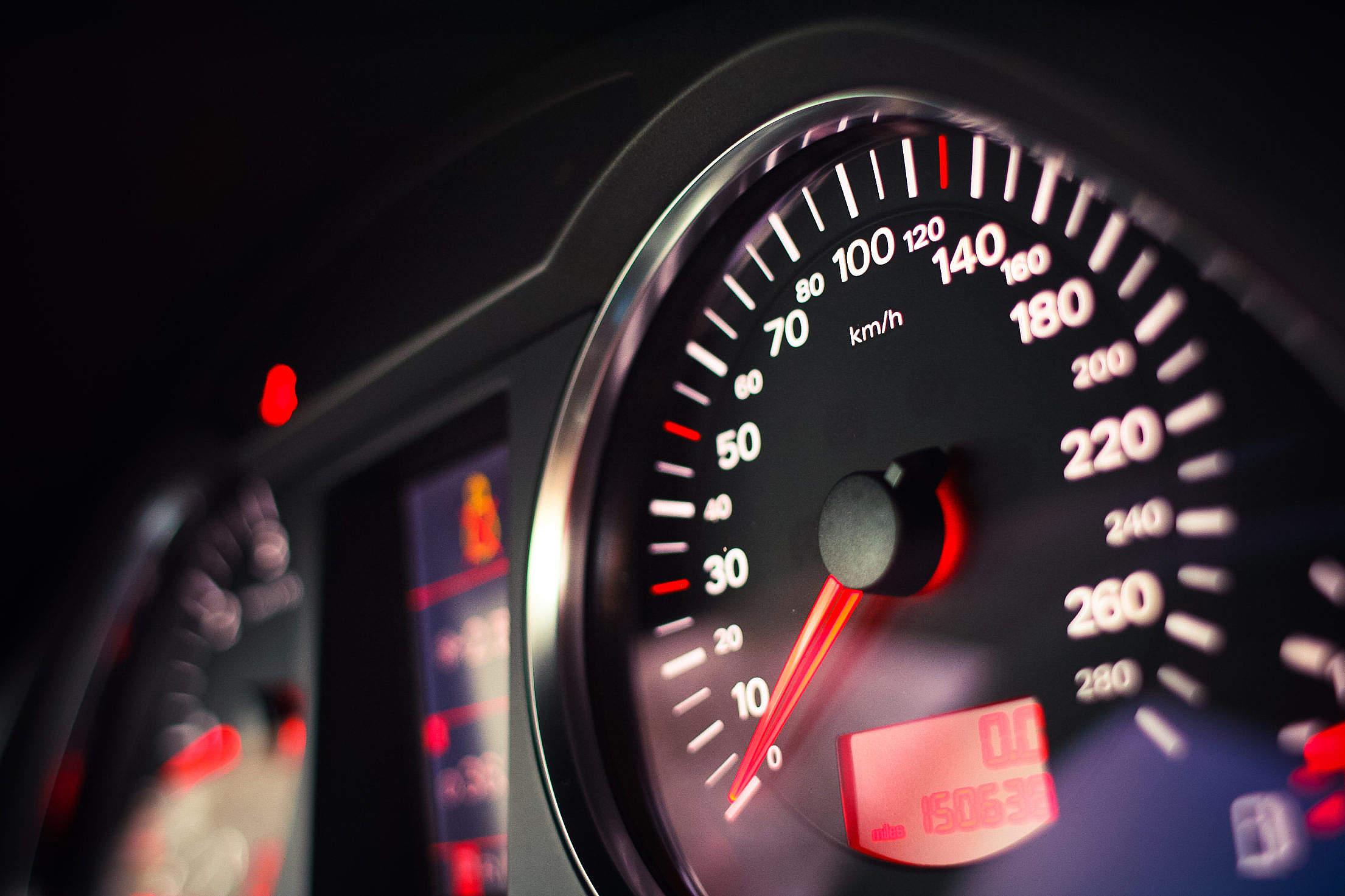 Modern Speed-o-Meter Free Stock Photo