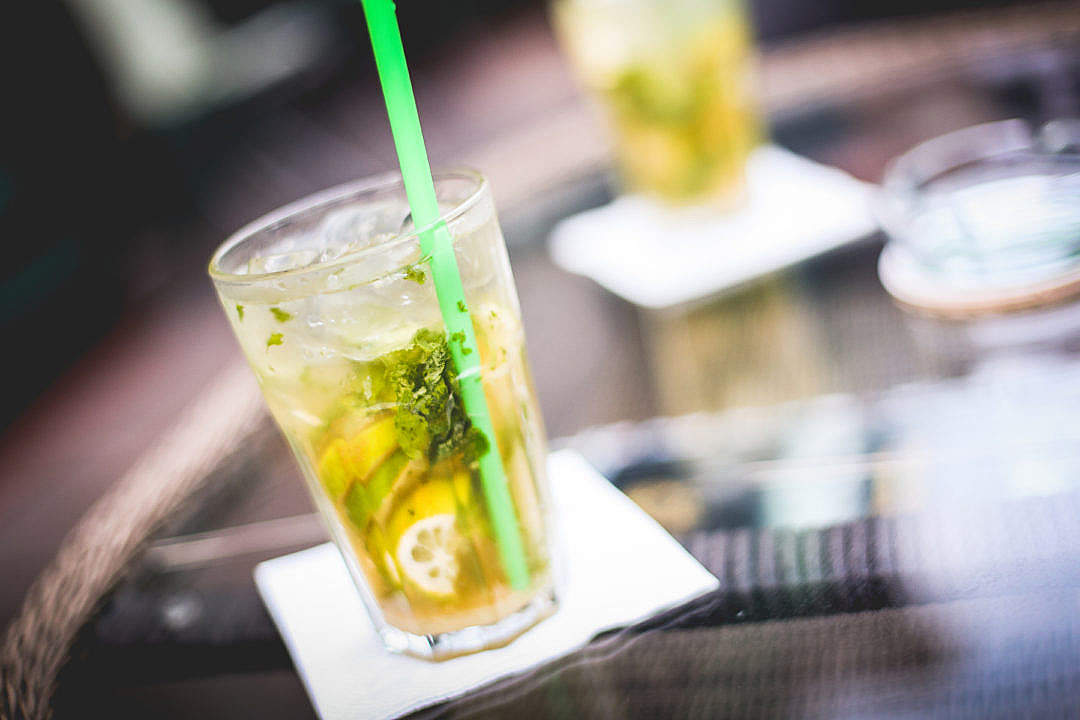 Download Mojito Drink Detail FREE Stock Photo