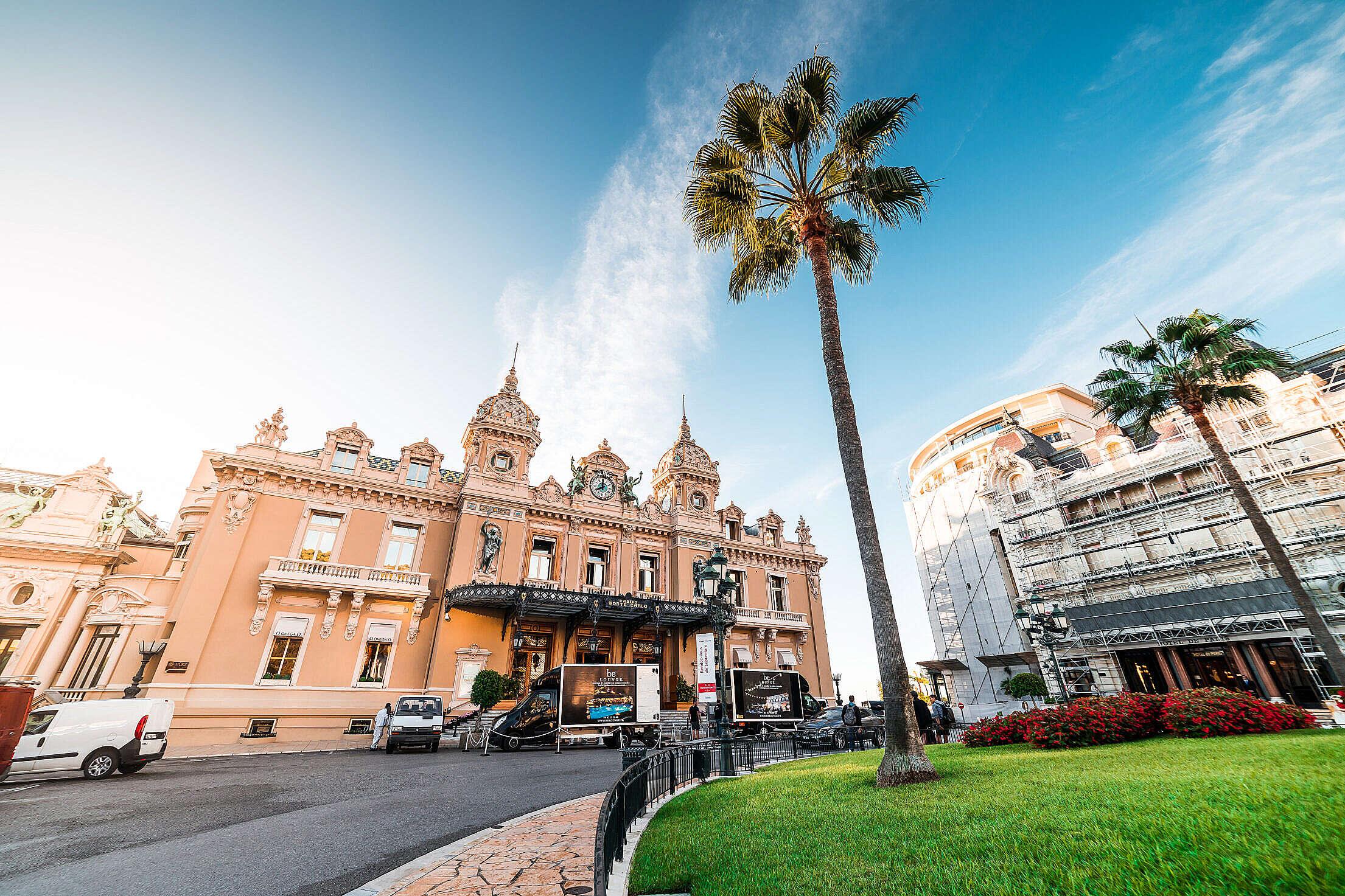 Monaco Casino Monte Carlo Free Stock Photo