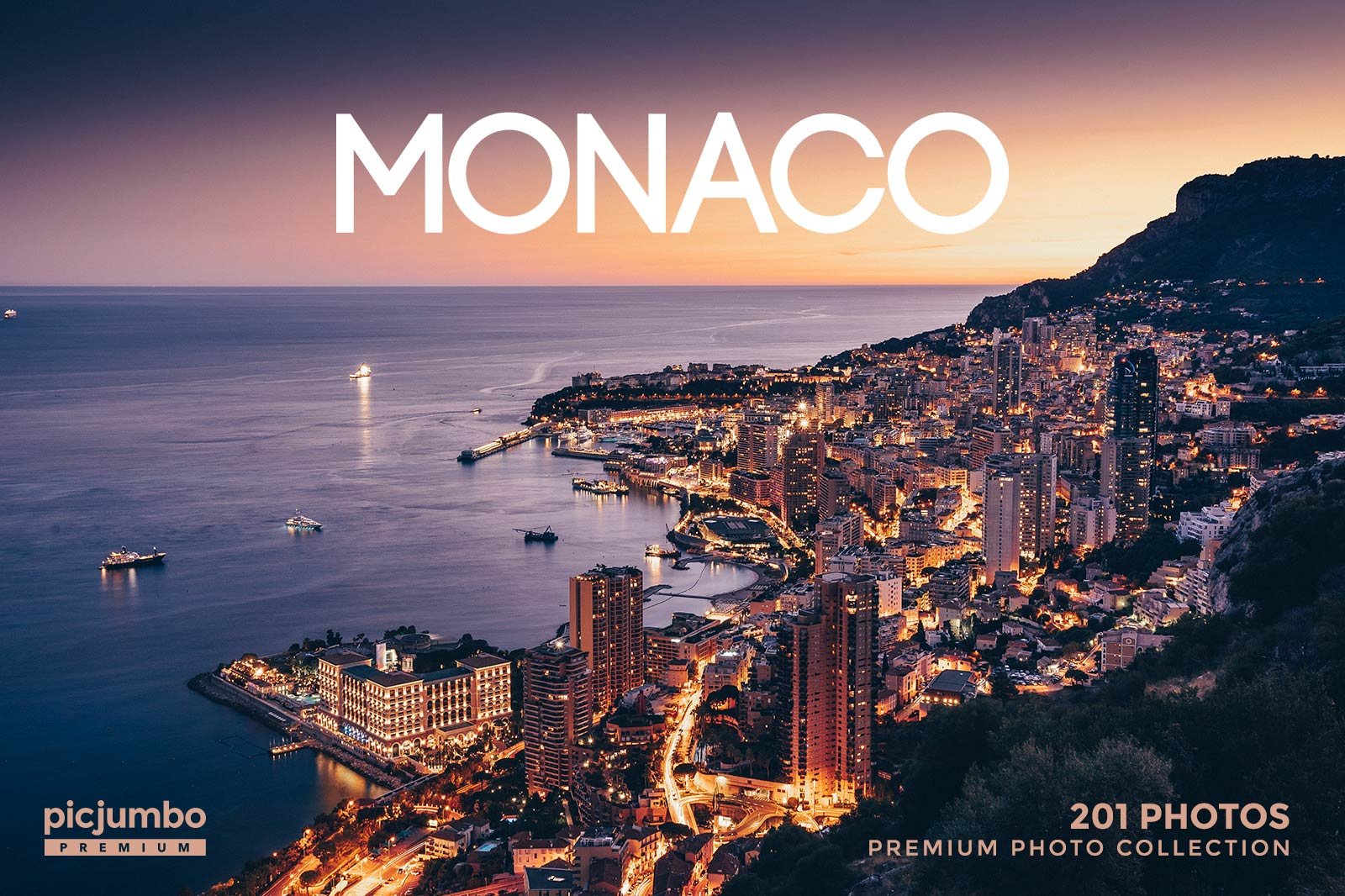 Monaco stock photo collection