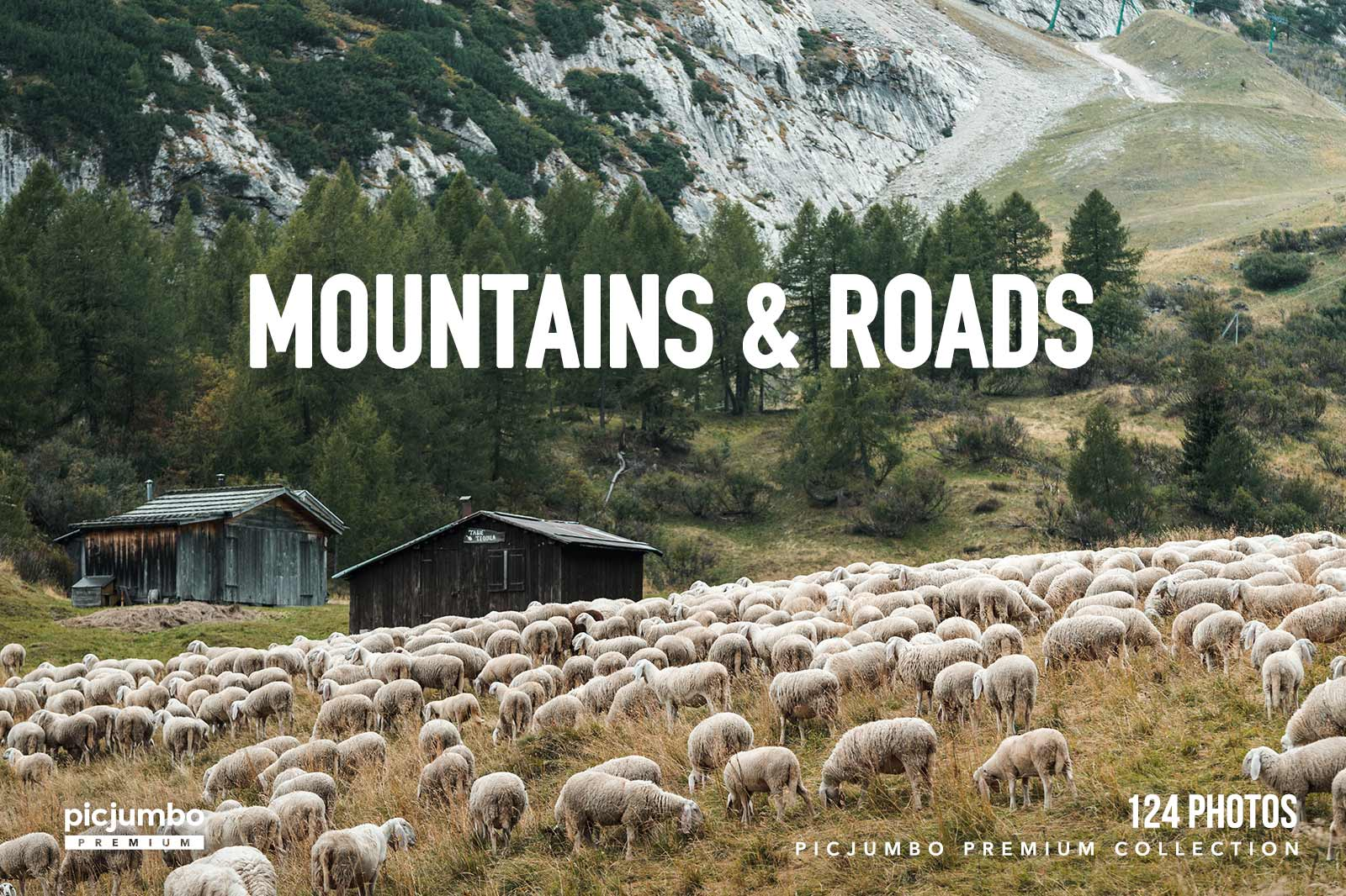 Mountains & Roads — get it now in picjumbo PREMIUM!