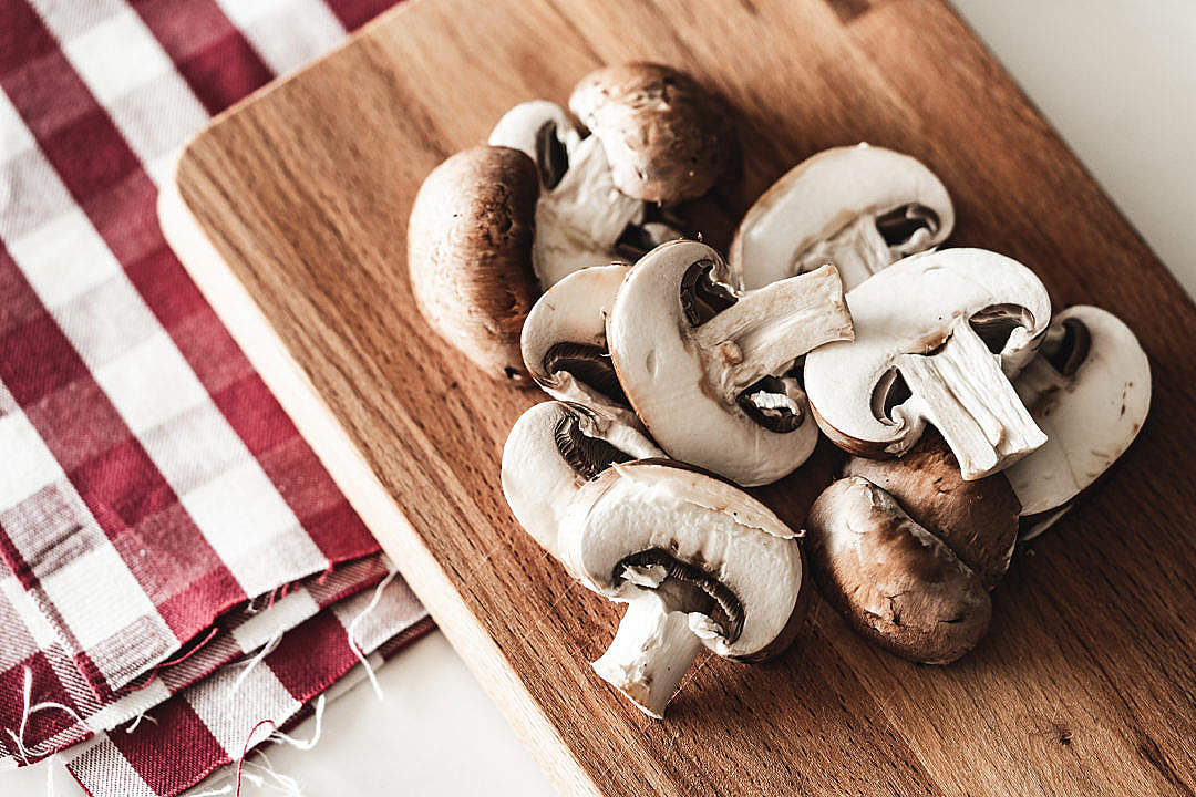 Download Mushrooms Cooking Ingredients FREE Stock Photo