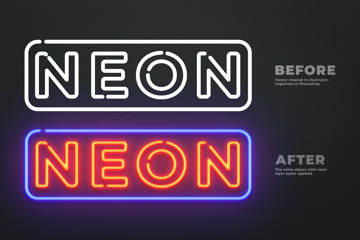 How To Create Neon Effect in Photoshop