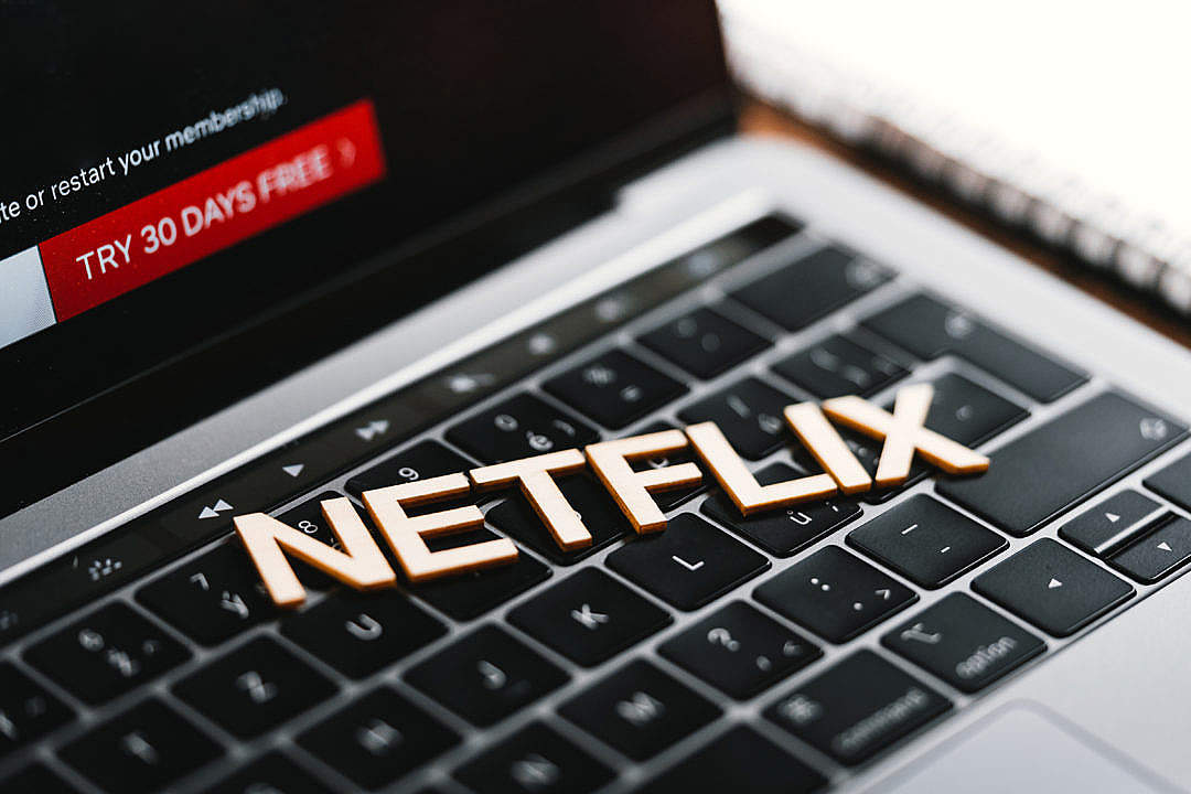 Download Netflix FREE Stock Photo