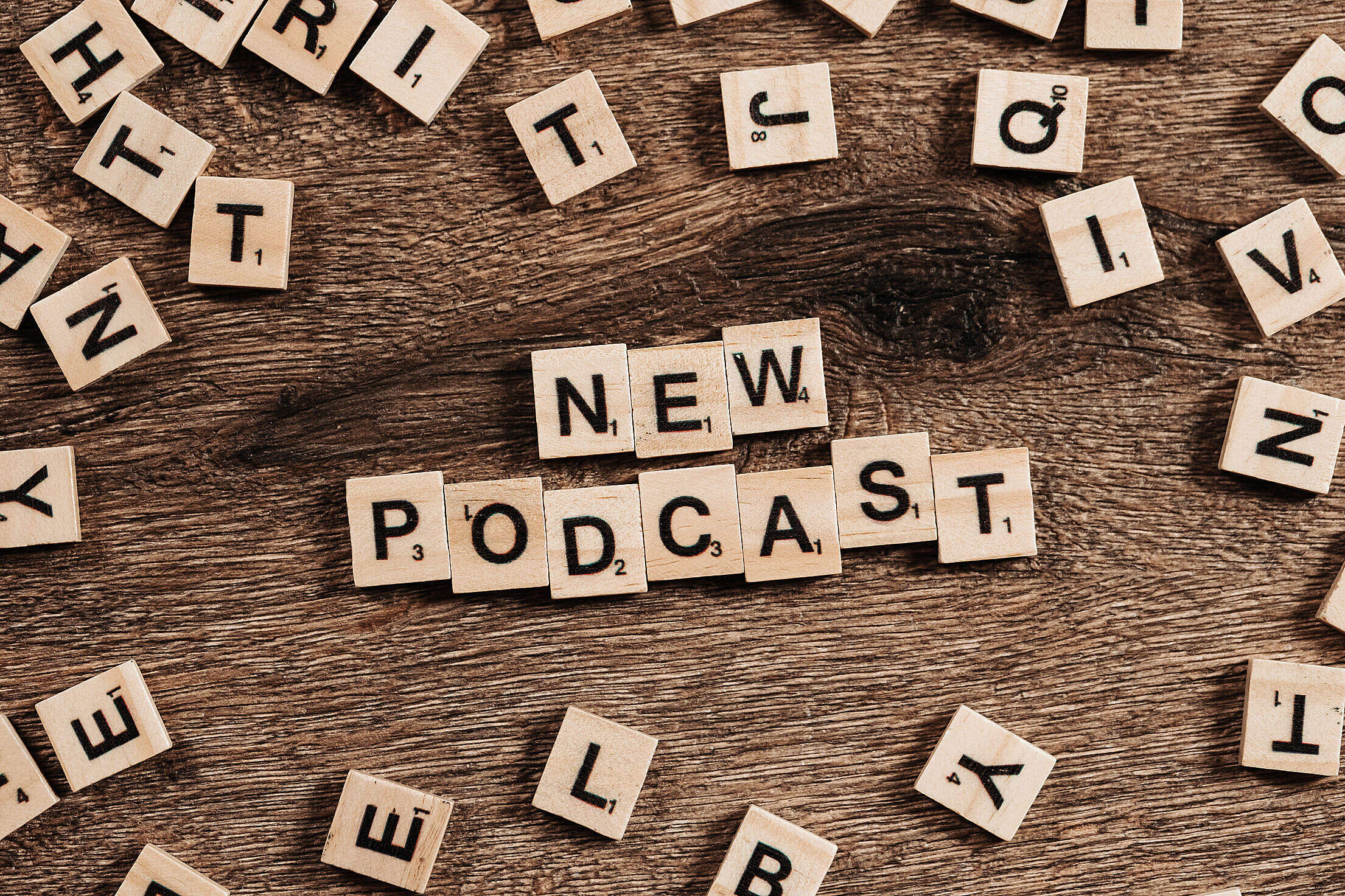New Podcast Free Stock Photo