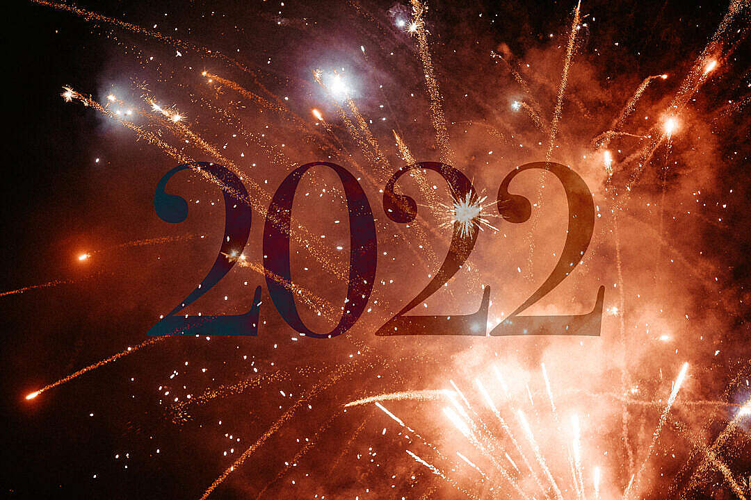 Download New Year 2022 FREE Stock Photo
