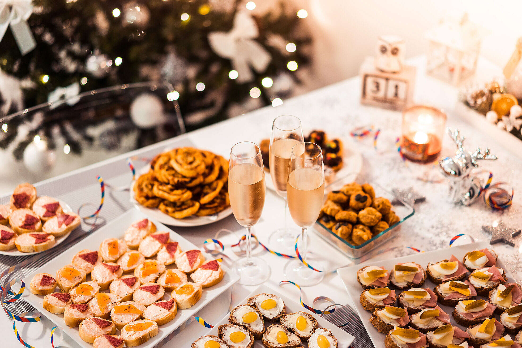New Years Eve Party Free Stock Photo