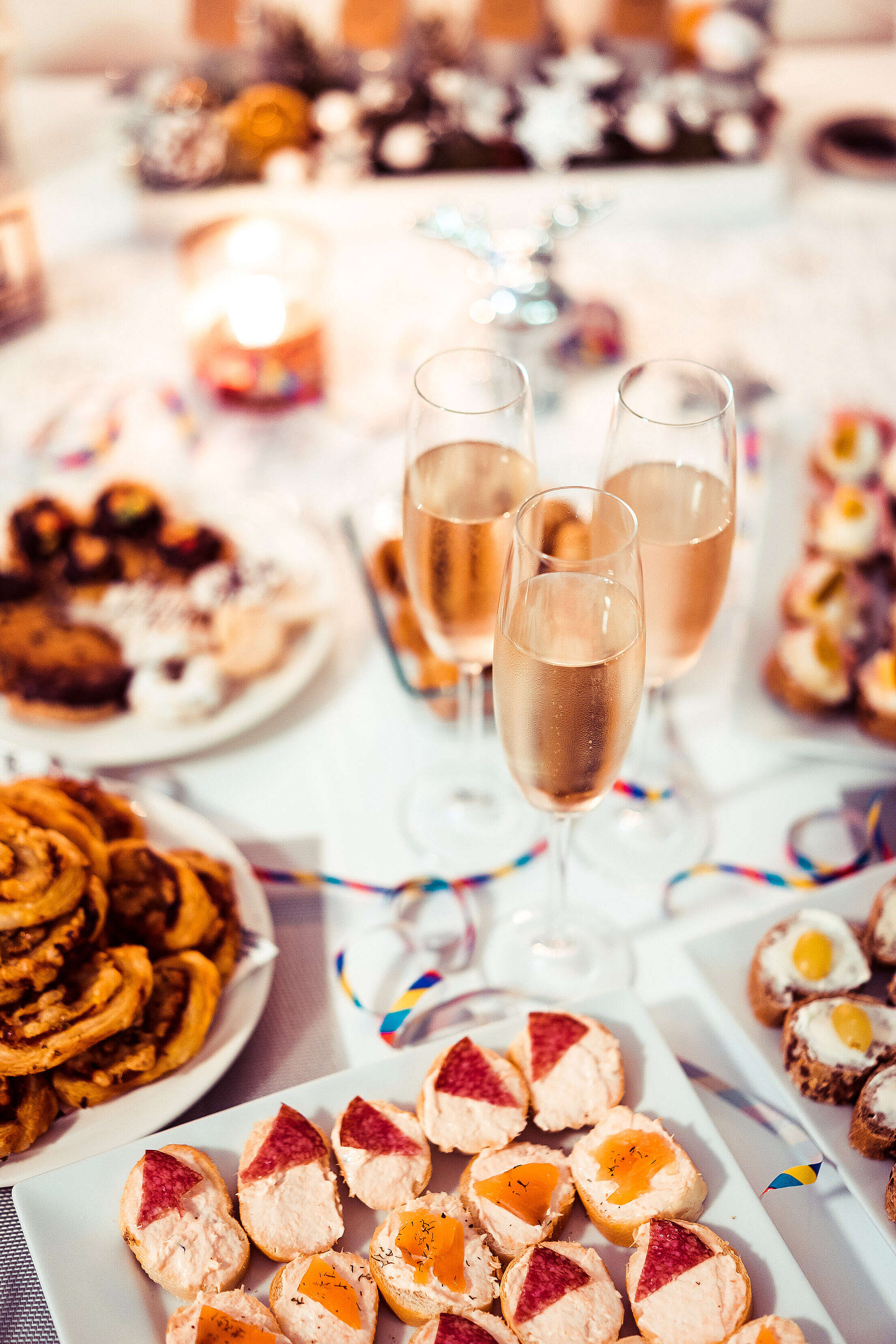 New Years Eve Vertical Free Stock Photo