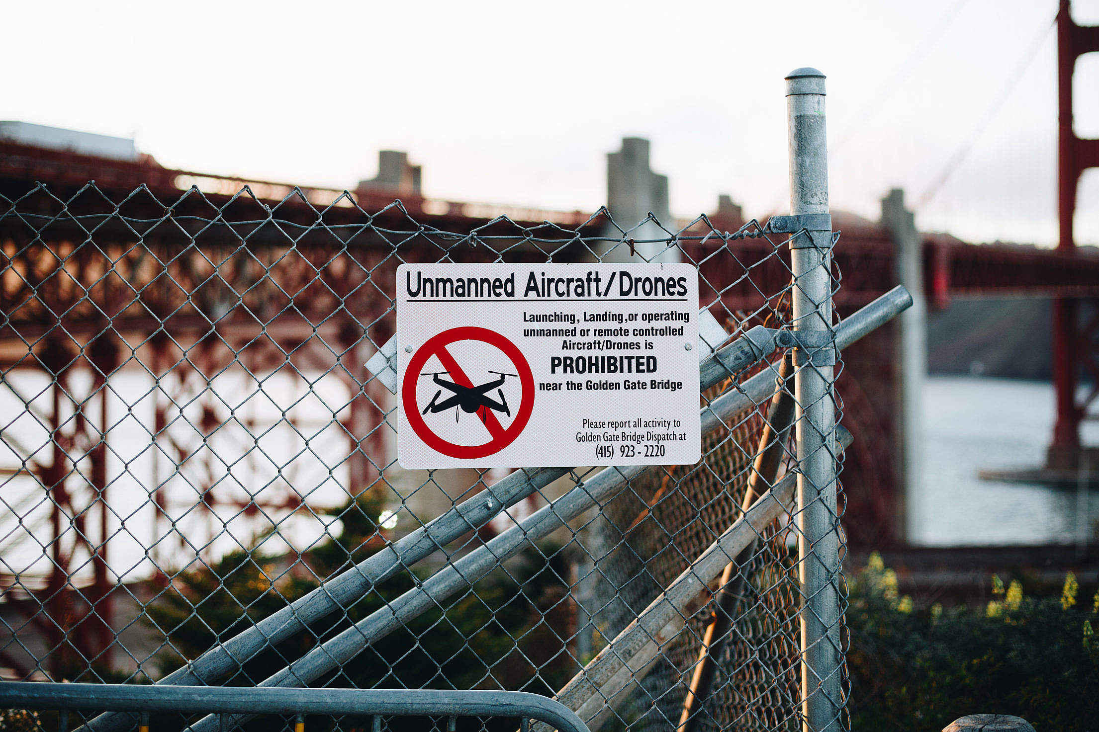 No Drone Zone Unmanned Aircraft and Drones Prohibited Free Stock Photo