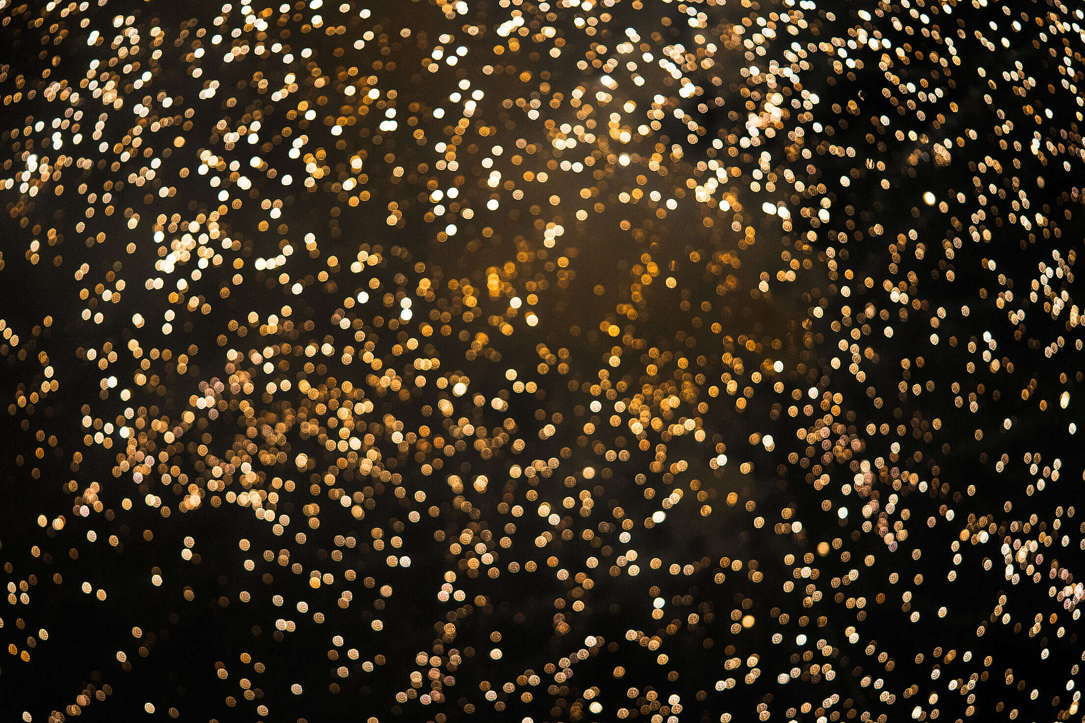 NYE Abstract Fireworks Bokeh Background Free Stock Photo