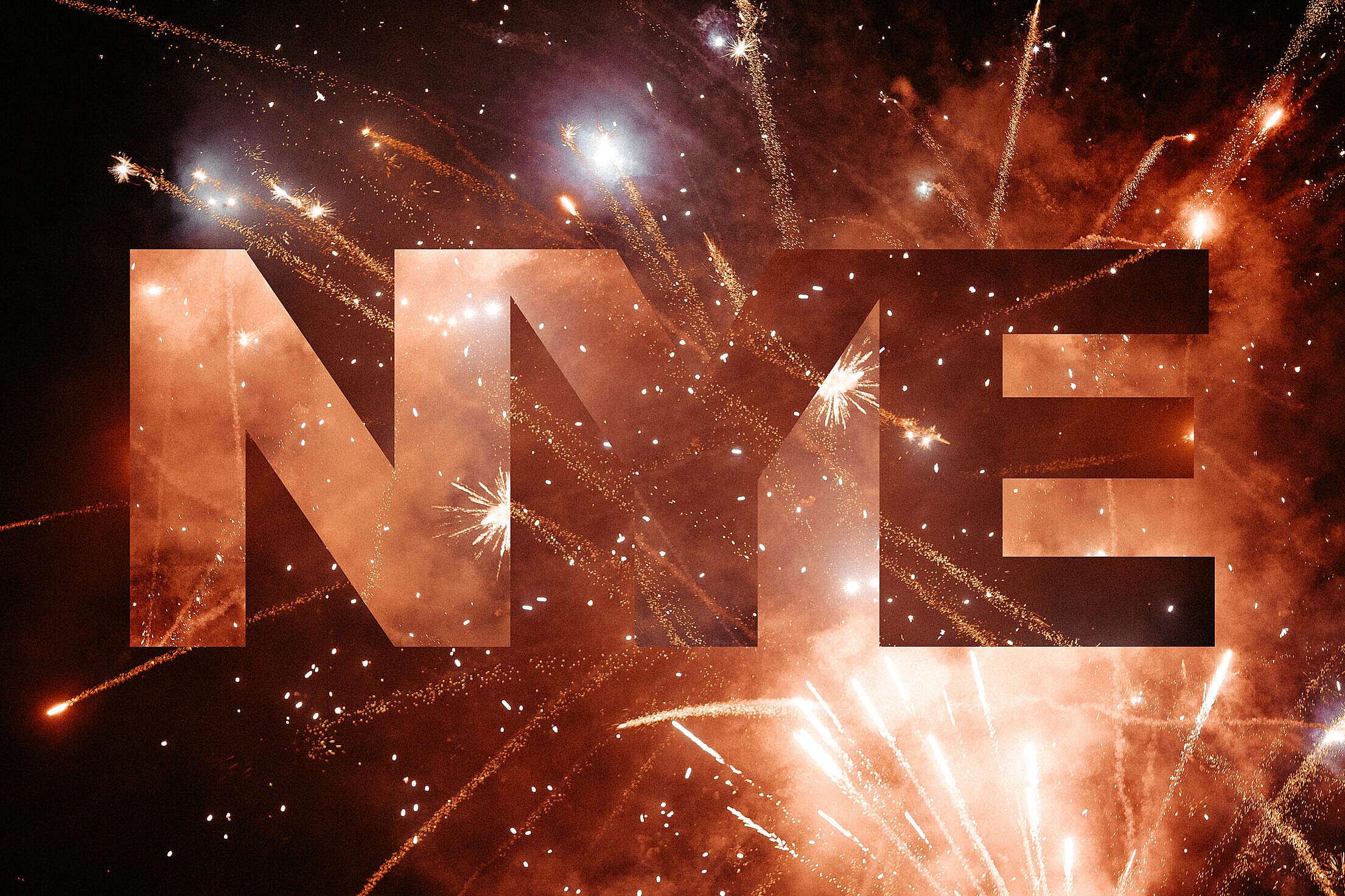 NYE New Years Eve Free Stock Photo