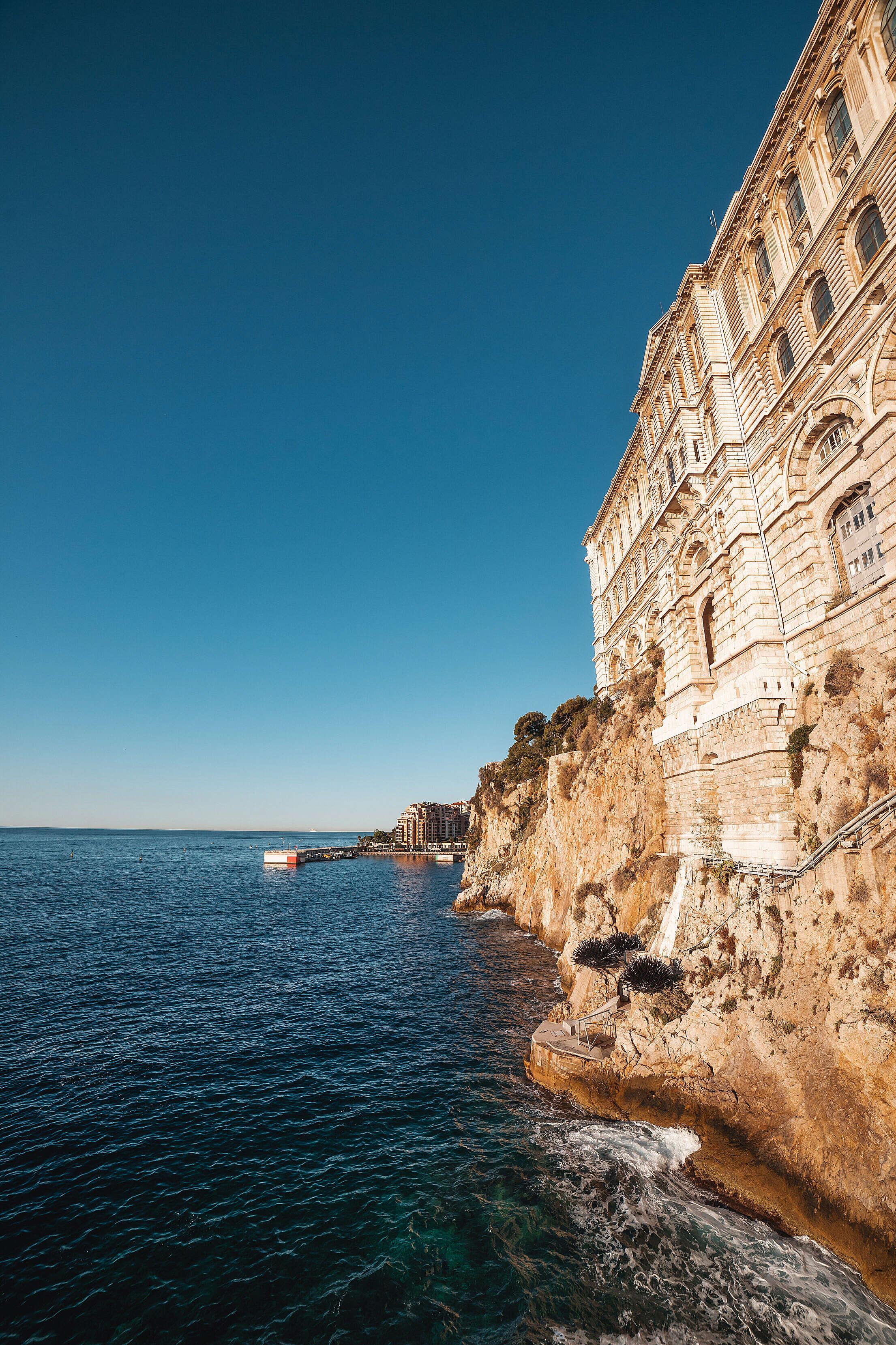 Oceanographic Museum of Monaco Free Stock Photo