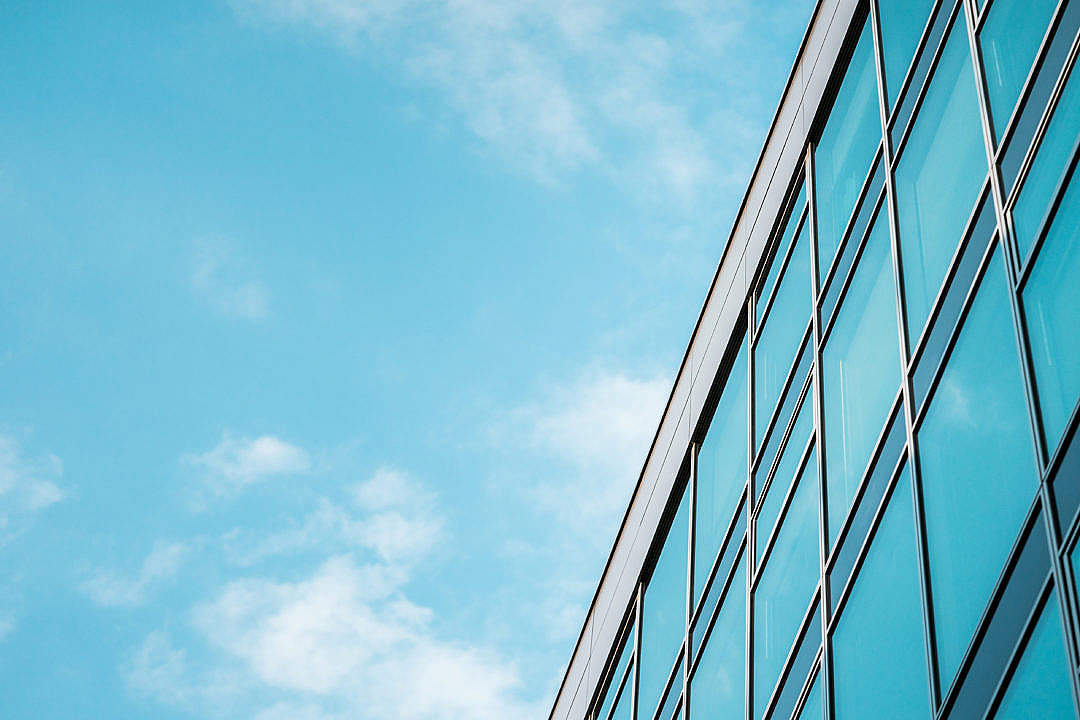 Download Office Building Skyscrapers with Room for Text FREE Stock Photo