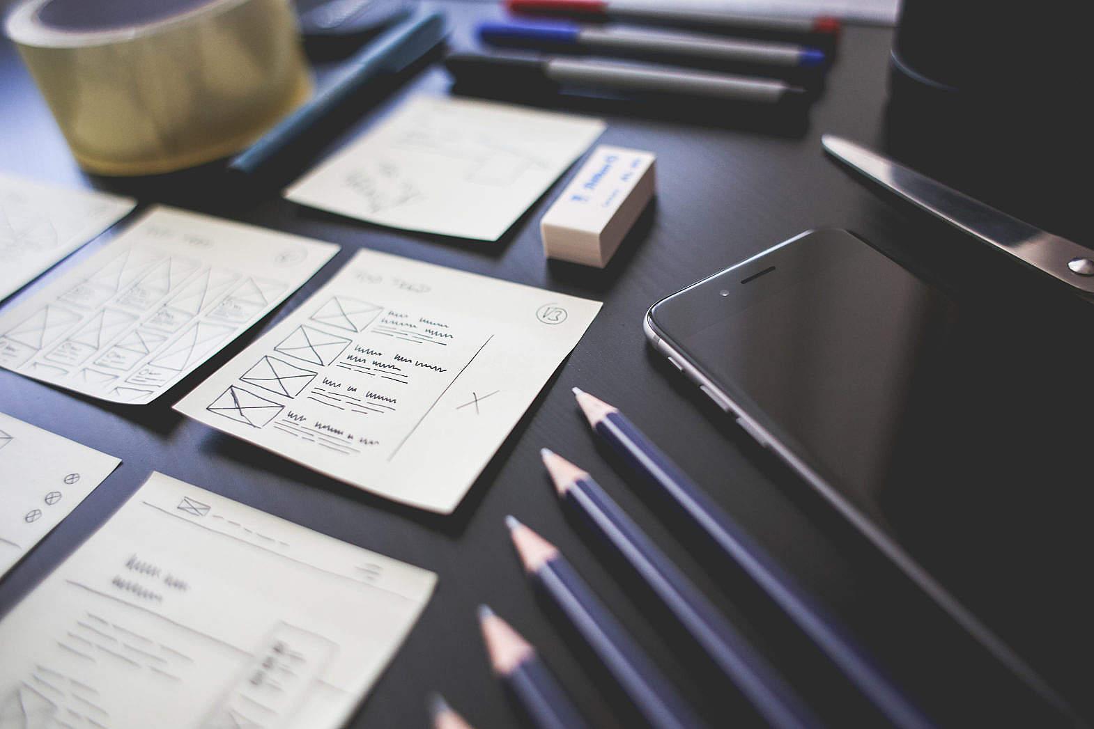 Office Work Things Free Stock Photo | picjumbo