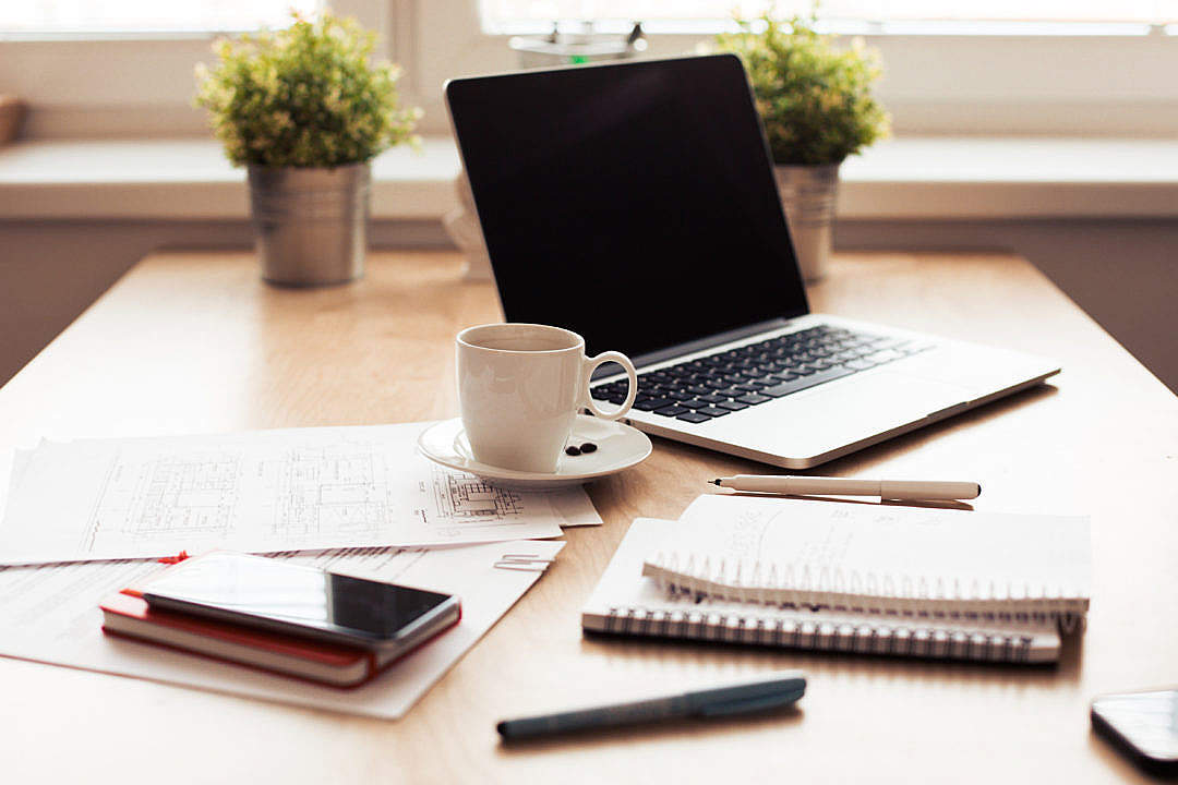 Download Office/Conference Room Workspace FREE Stock Photo